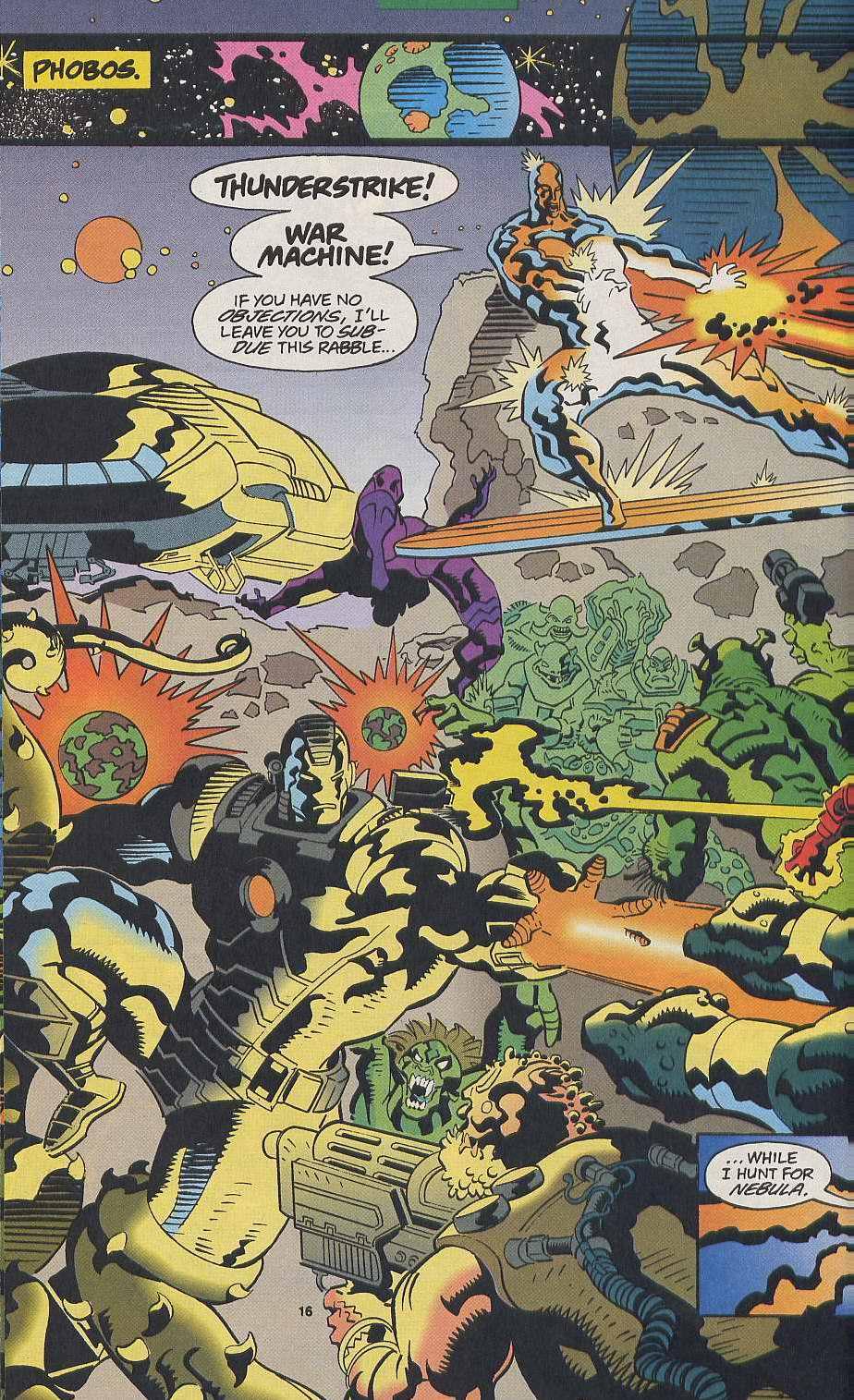 Read online Secret Defenders comic -  Issue #9 - 13