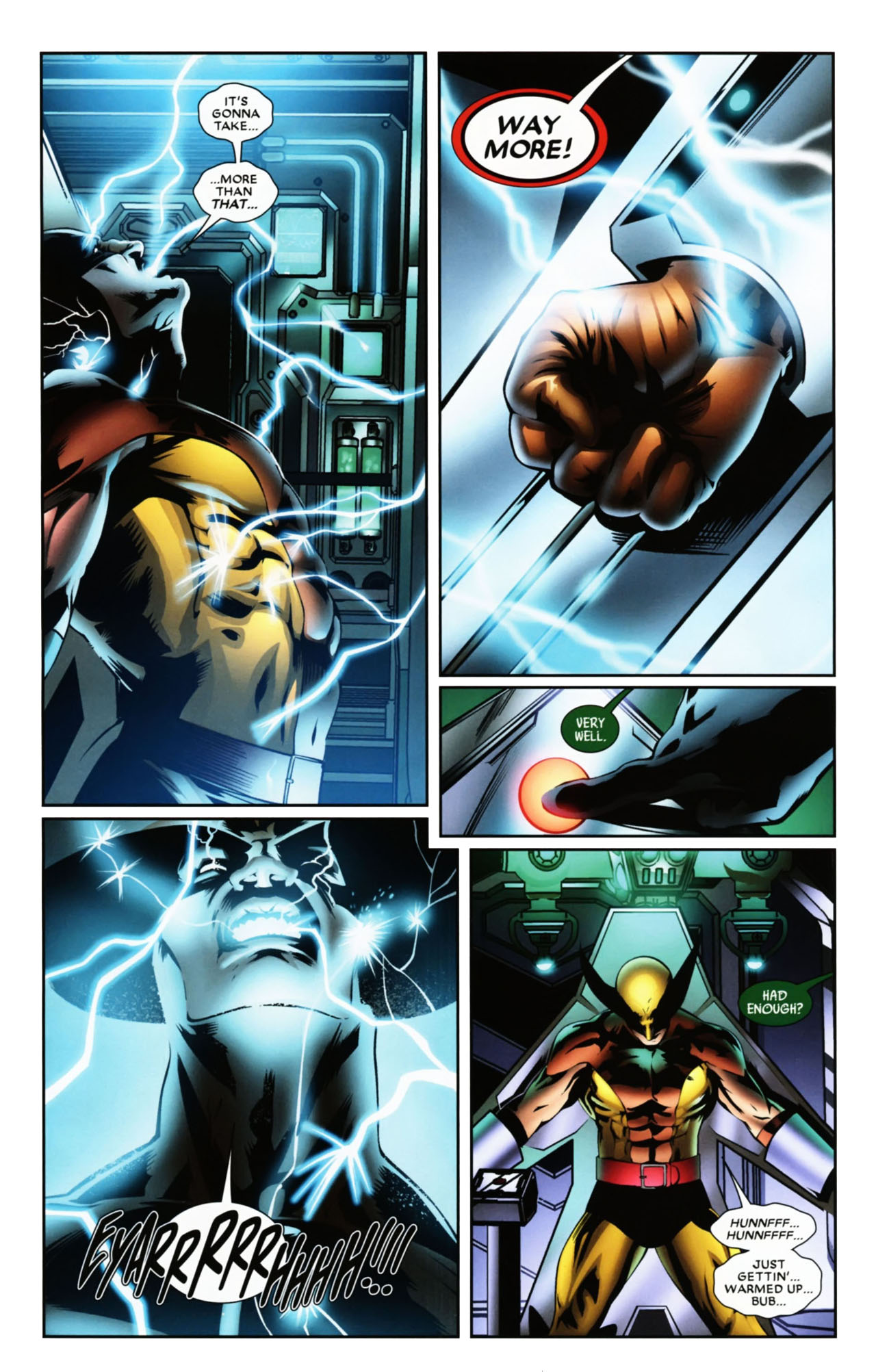 Read online Wolverine: First Class comic -  Issue #19 - 9