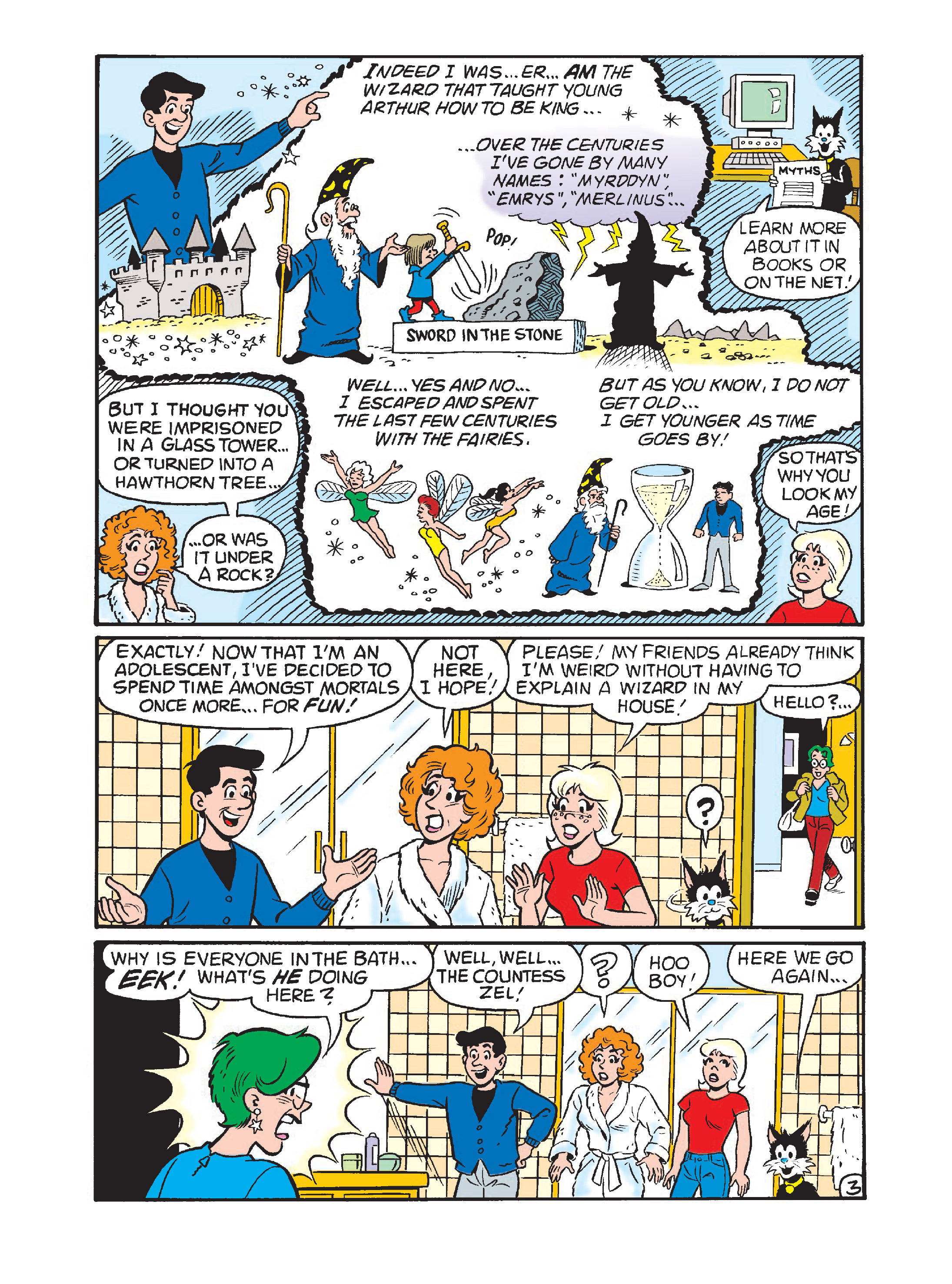 Read online Archie 75th Anniversary Digest comic -  Issue #1 - 108