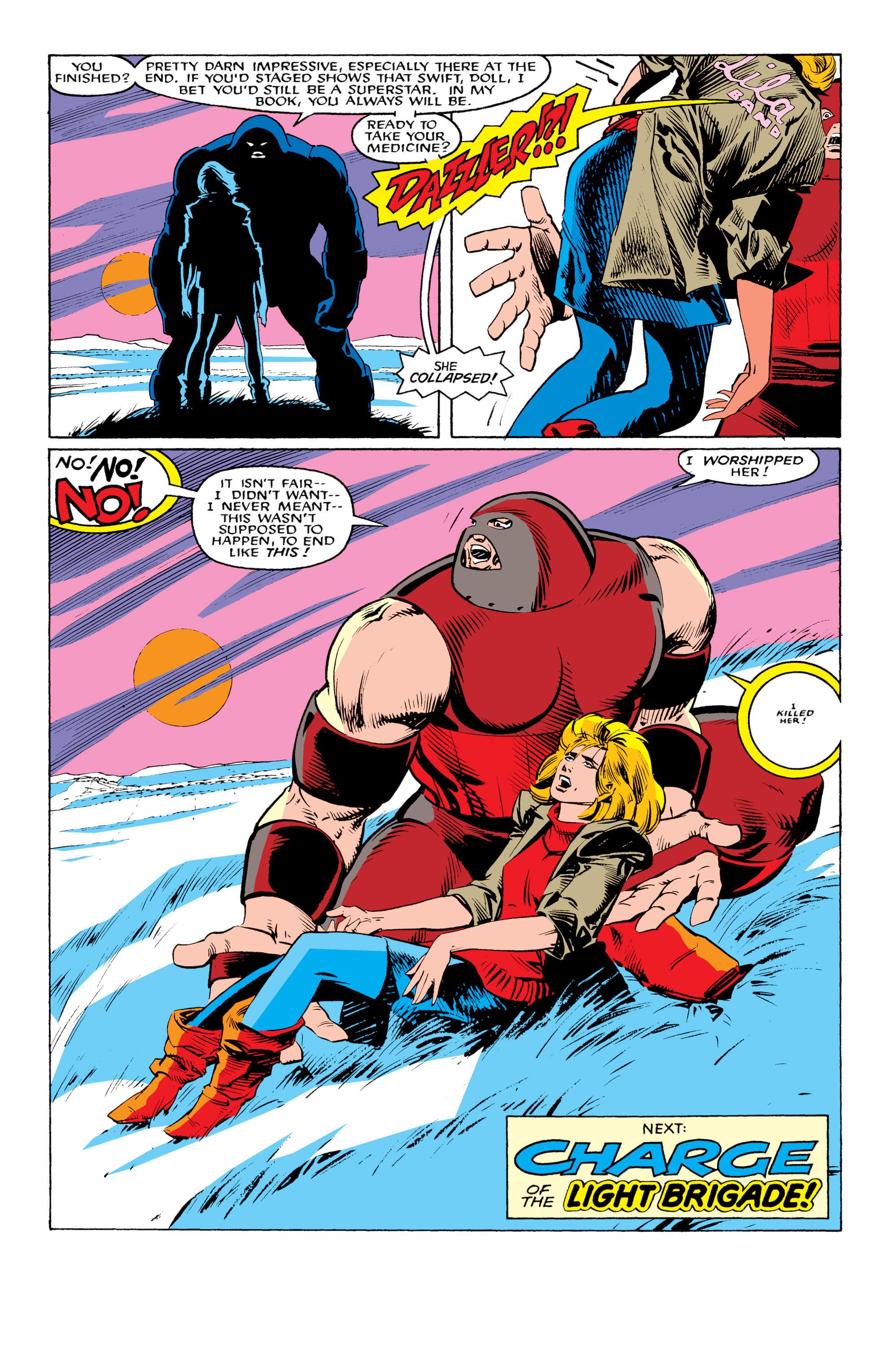 Read online Uncanny X-Men (1963) comic -  Issue #217 - 23
