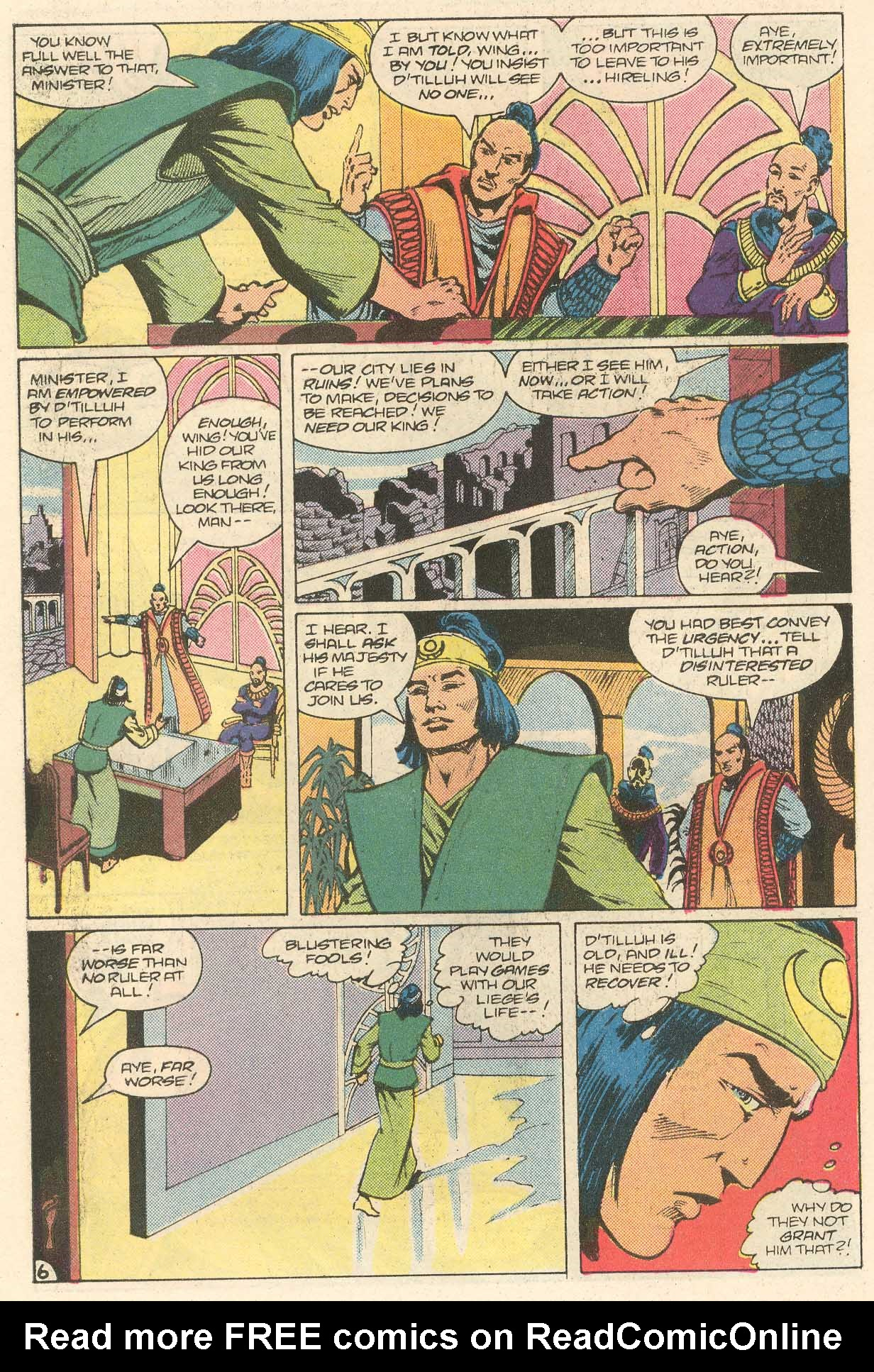 Read online Arion, Lord of Atlantis comic -  Issue #28 - 7