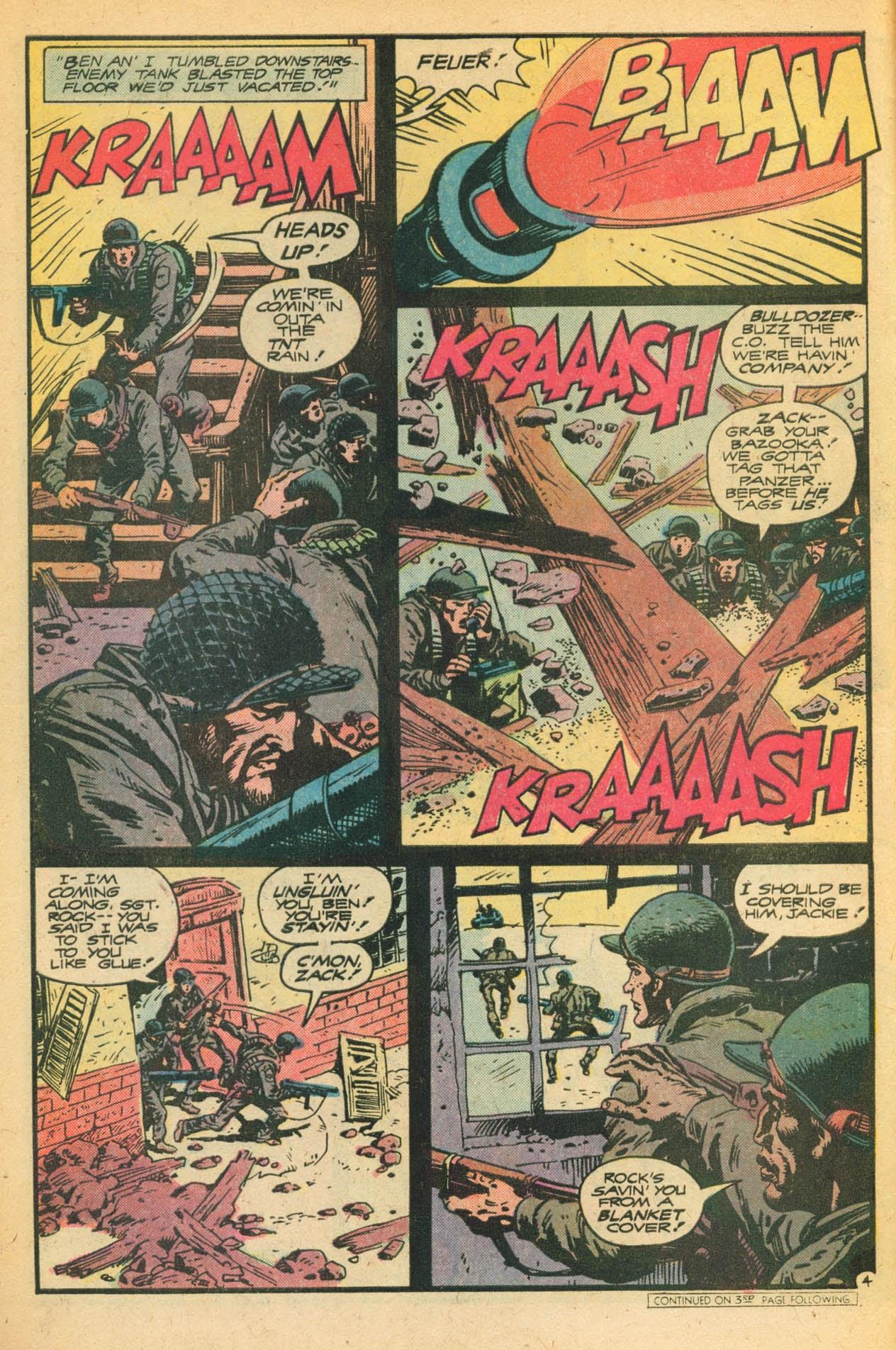 Read online Sgt. Rock comic -  Issue #329 - 6