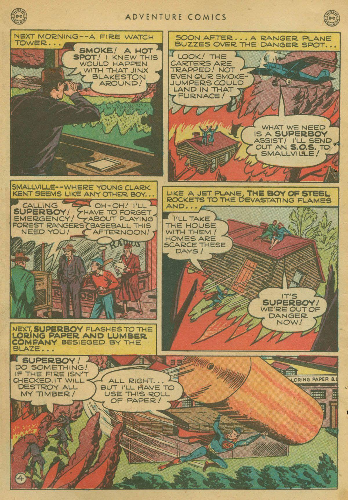 Read online Adventure Comics (1938) comic -  Issue #142 - 5