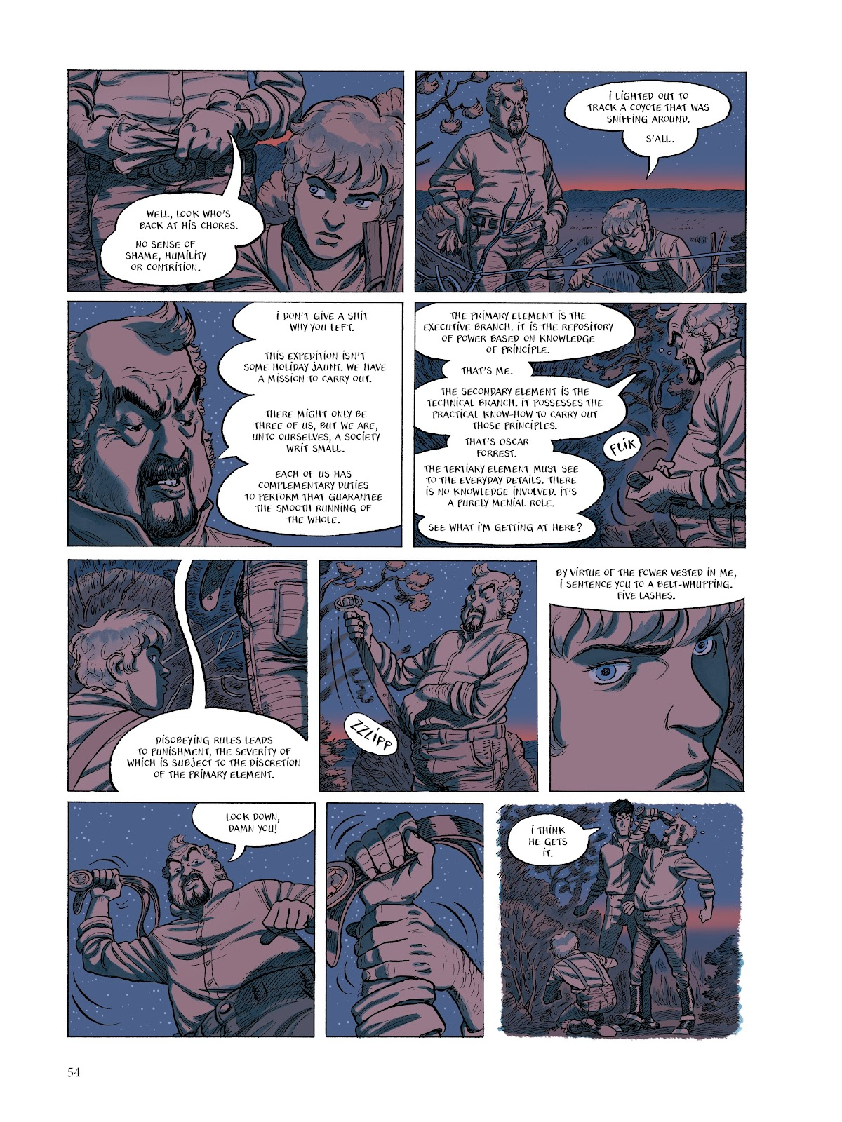 Read online The Smell of Starving Boys comic -  Issue # TPB - 55