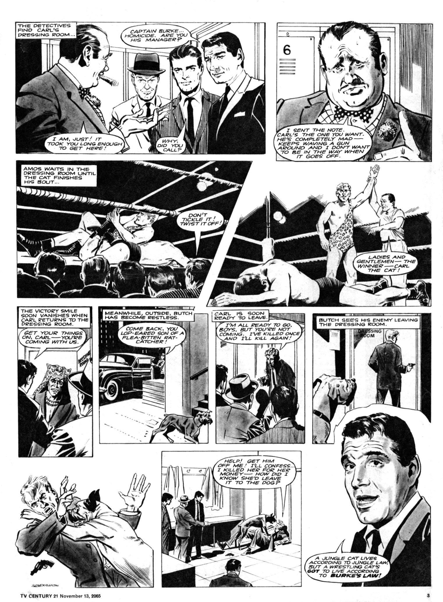 Read online TV Century 21 (TV 21) comic -  Issue #43 - 3