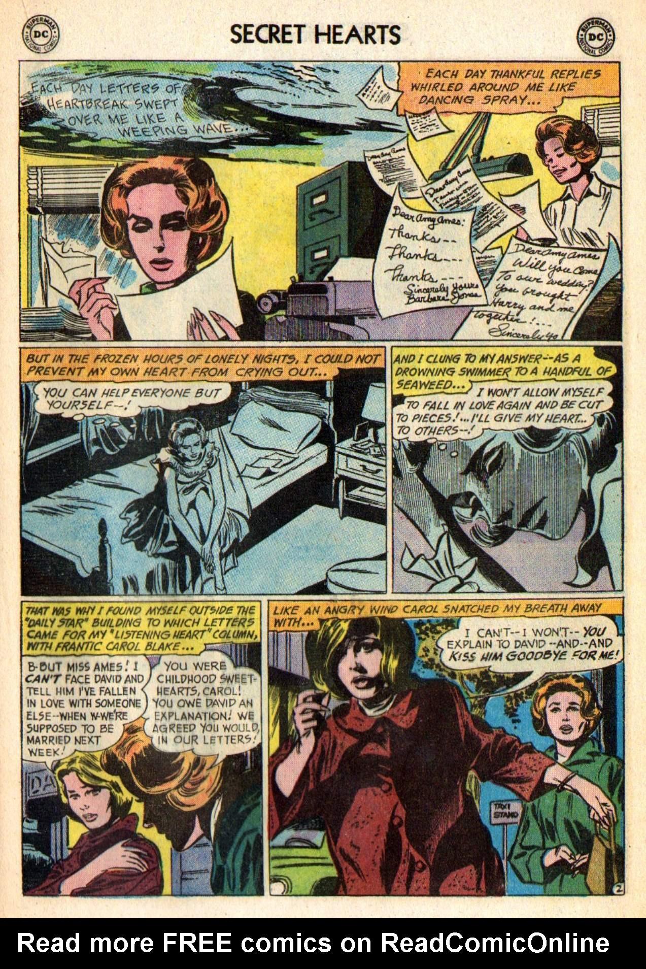 Read online Secret Hearts comic -  Issue #98 - 21
