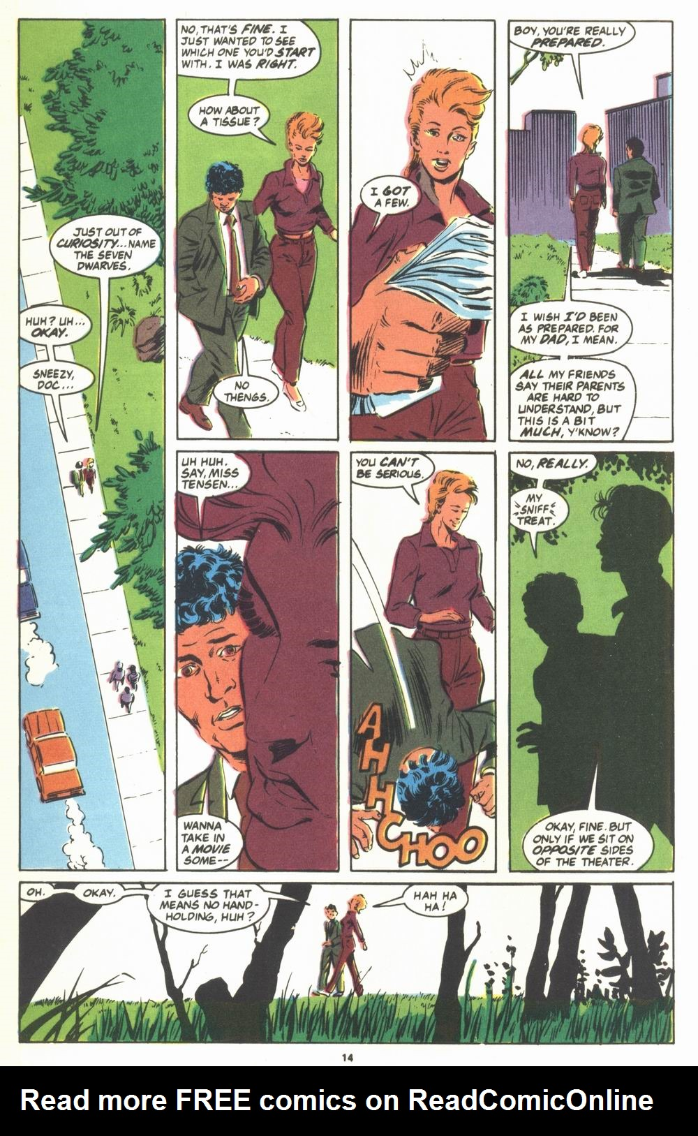 Read online Justice (1986) comic -  Issue #23 - 16