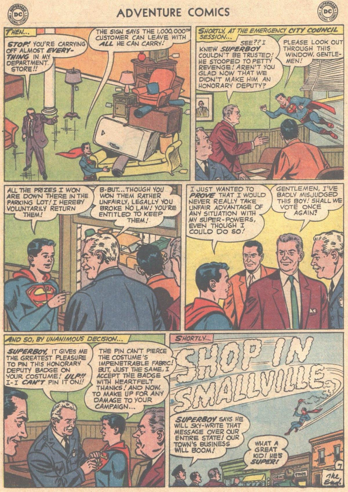 Read online Adventure Comics (1938) comic -  Issue #333 - 25