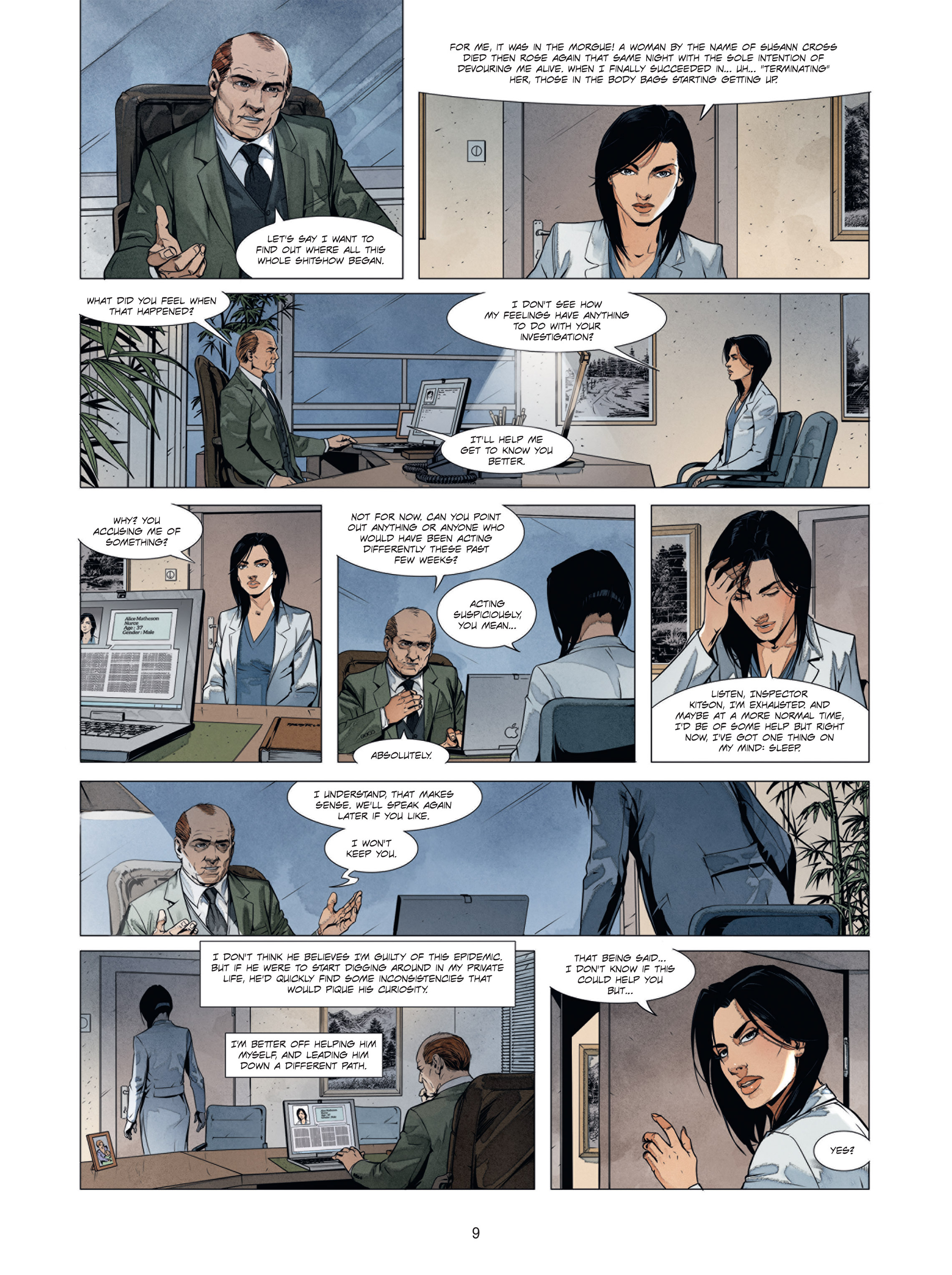 Read online Alice Matheson comic -  Issue #2.2 - 9