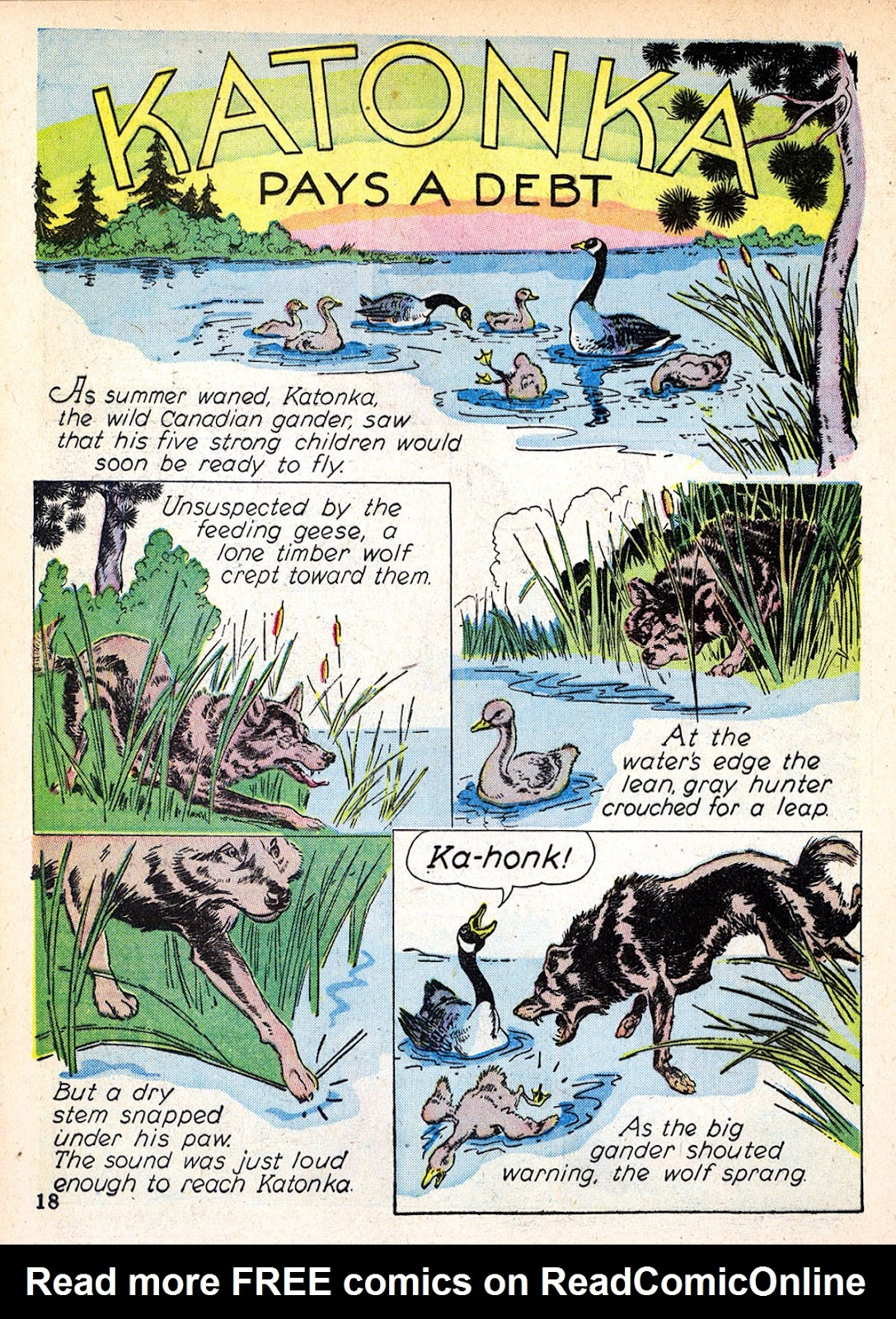 Read online Animal Comics comic -  Issue #2 - 20