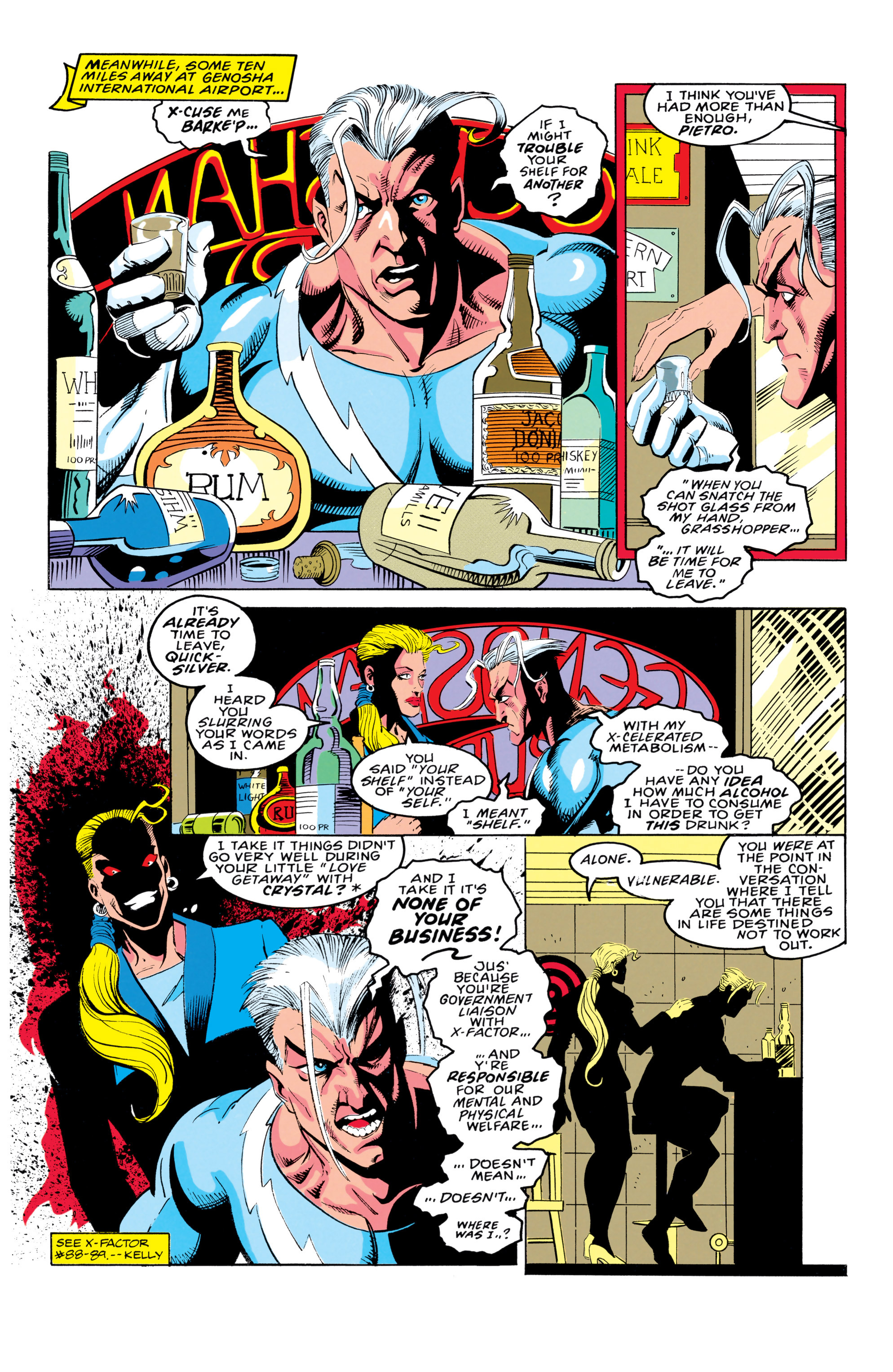 Read online X-Factor (1986) comic -  Issue #91 - 10