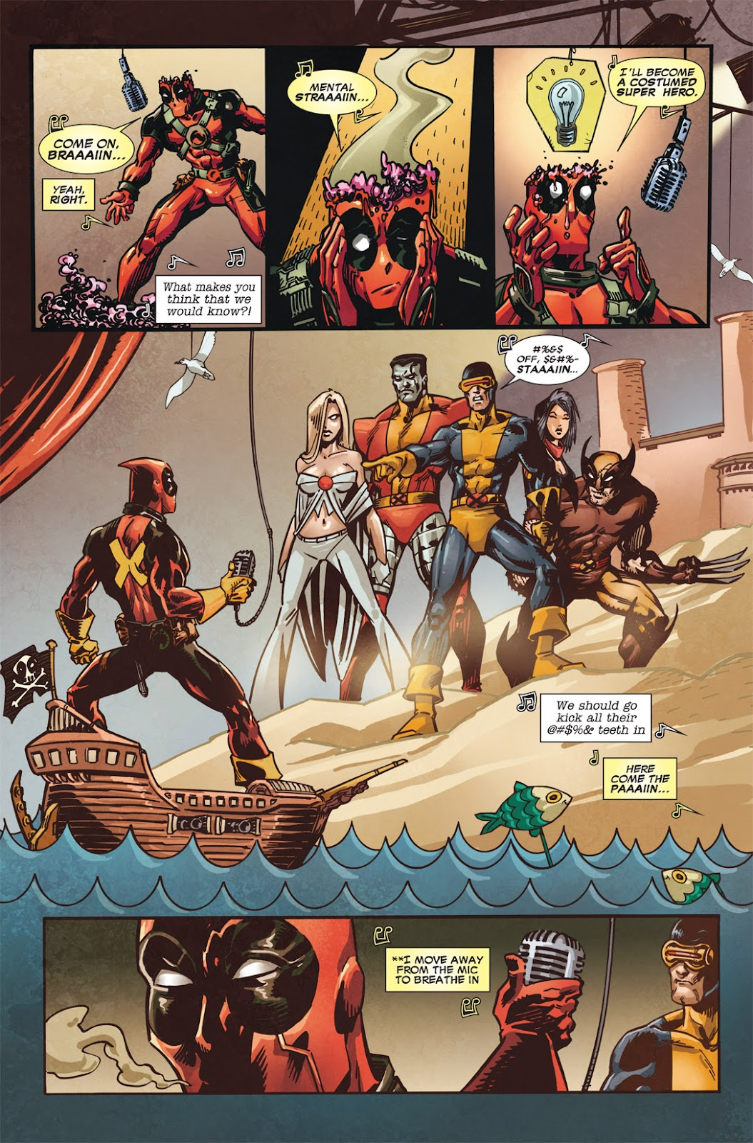 Read online Deadpool (2008) comic -  Issue #49.1 - 12