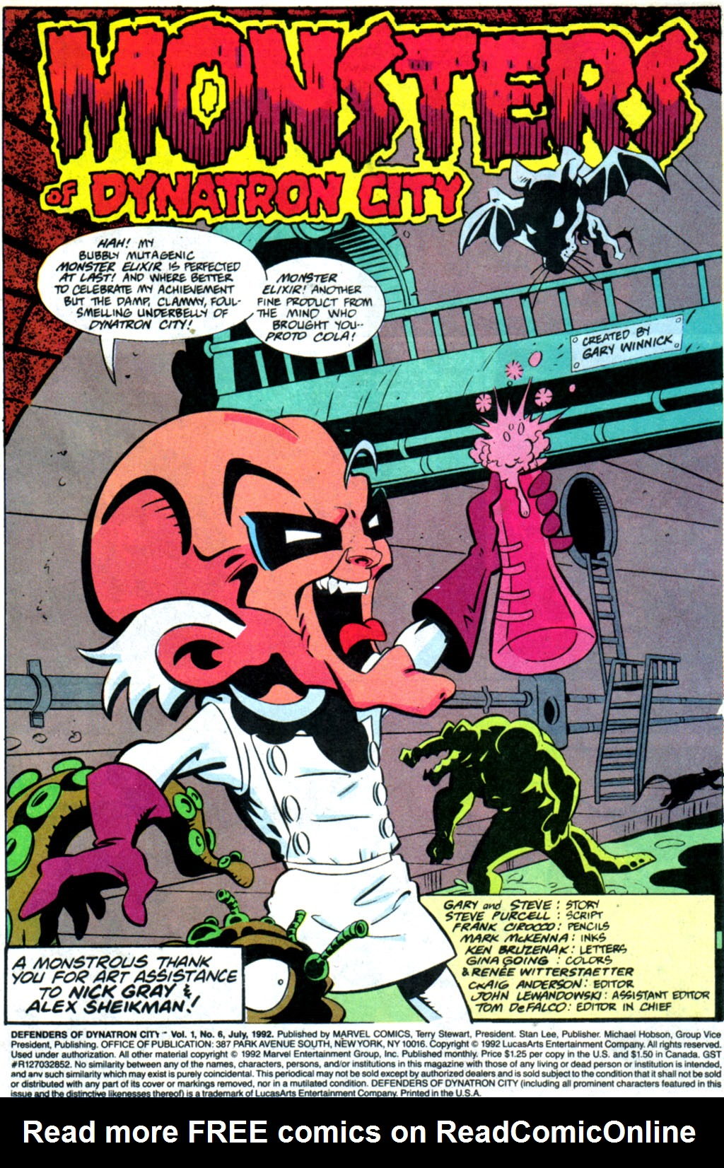 Read online Defenders of Dynatron City comic -  Issue #6 - 2