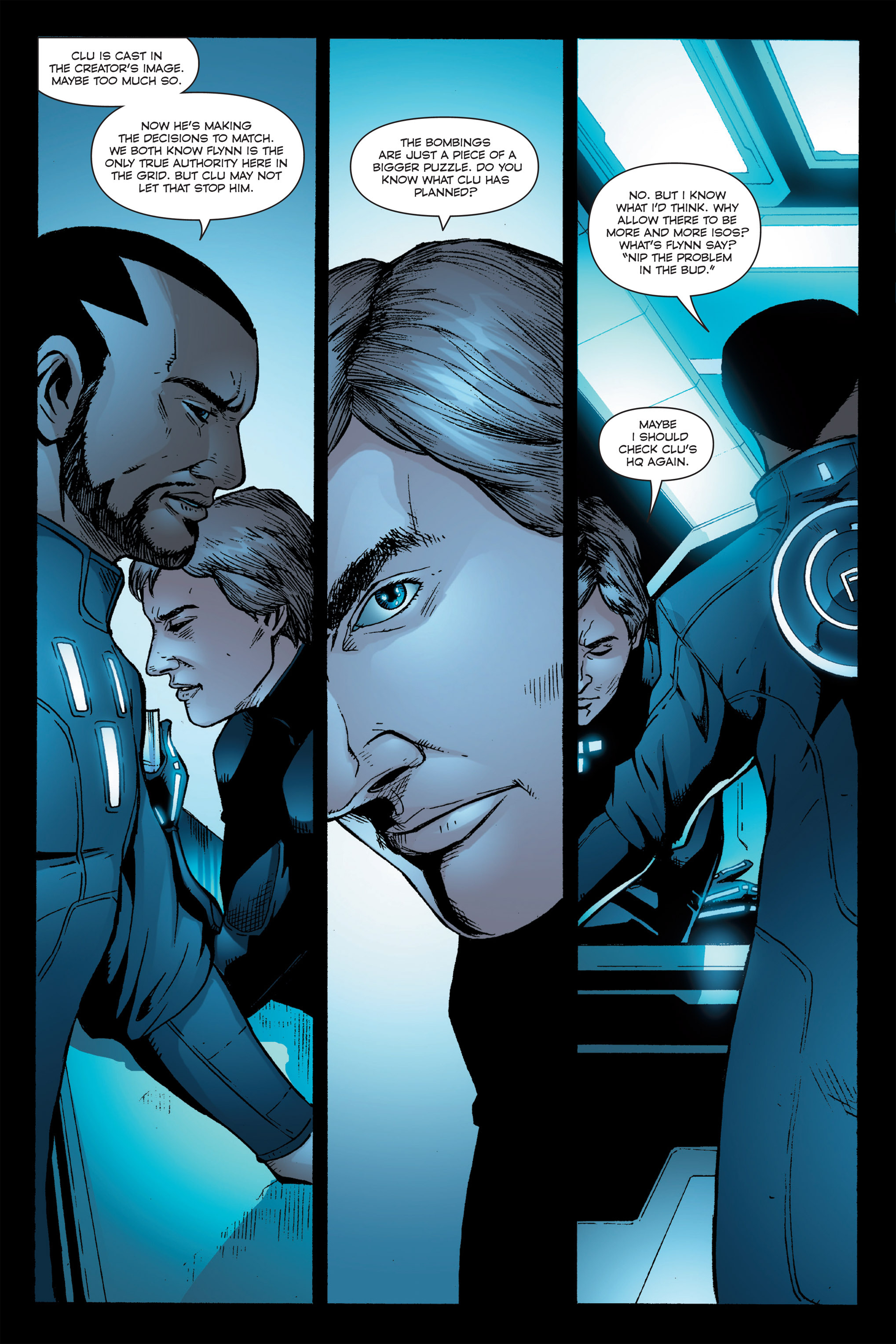 Read online TRON: Betrayal comic -  Issue # TPB - 94