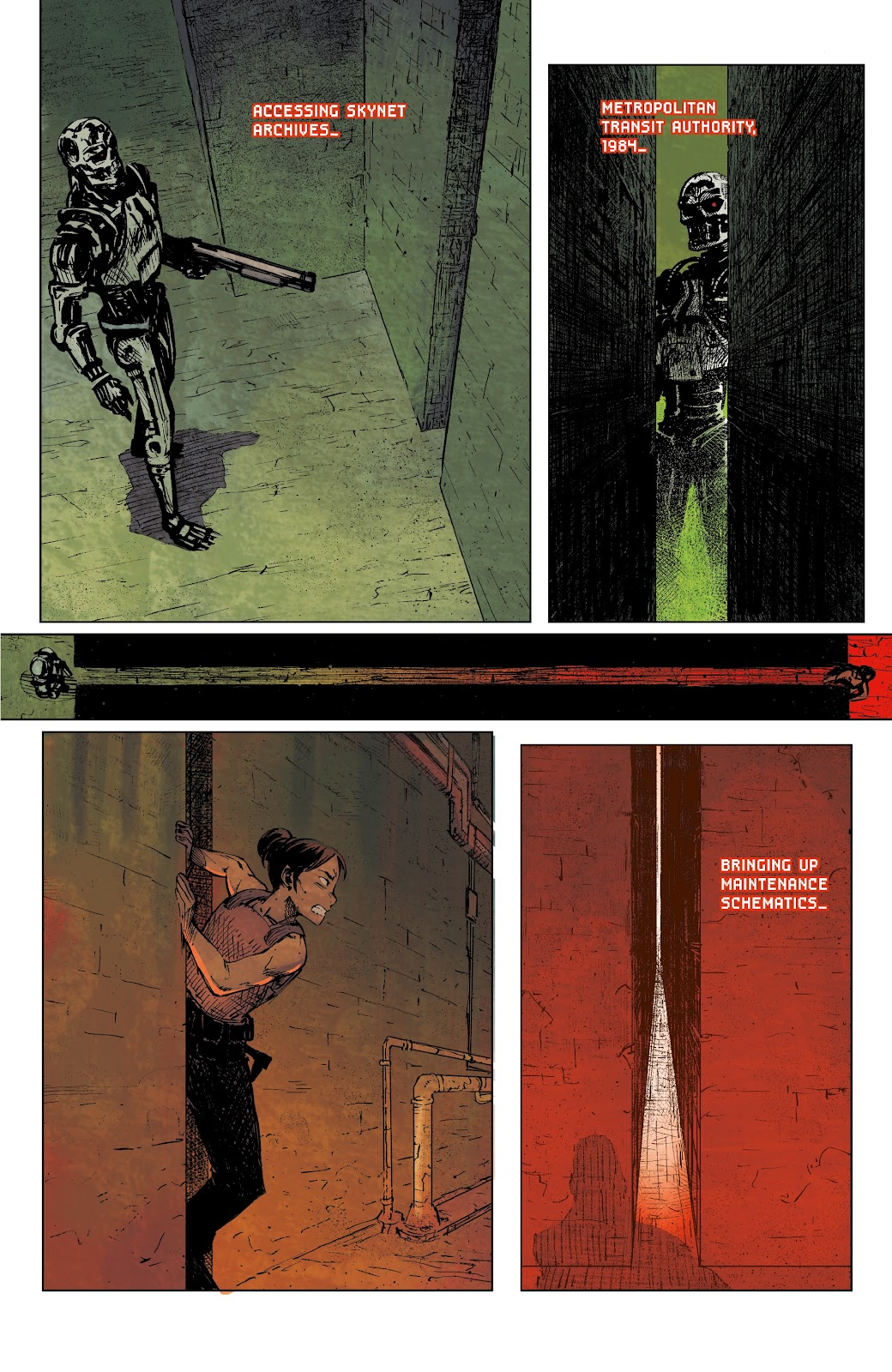 Read online The Terminator: Sector War comic -  Issue #4 - 7