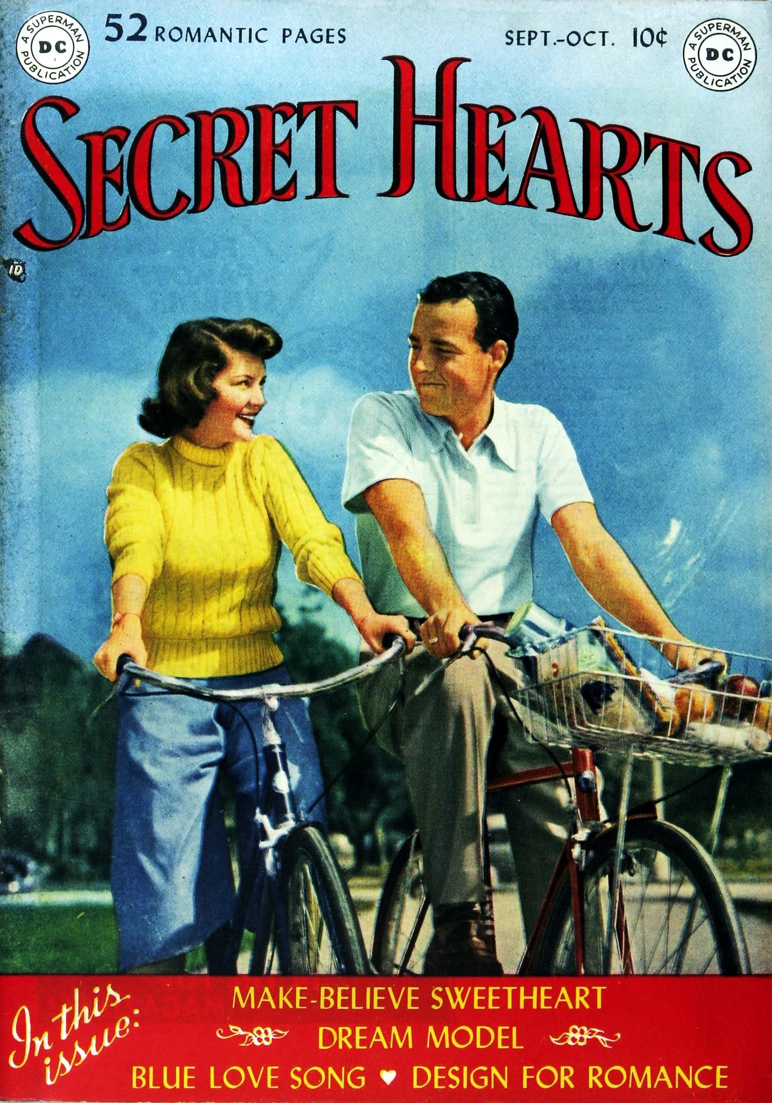 Read online Secret Hearts comic -  Issue #1 - 1