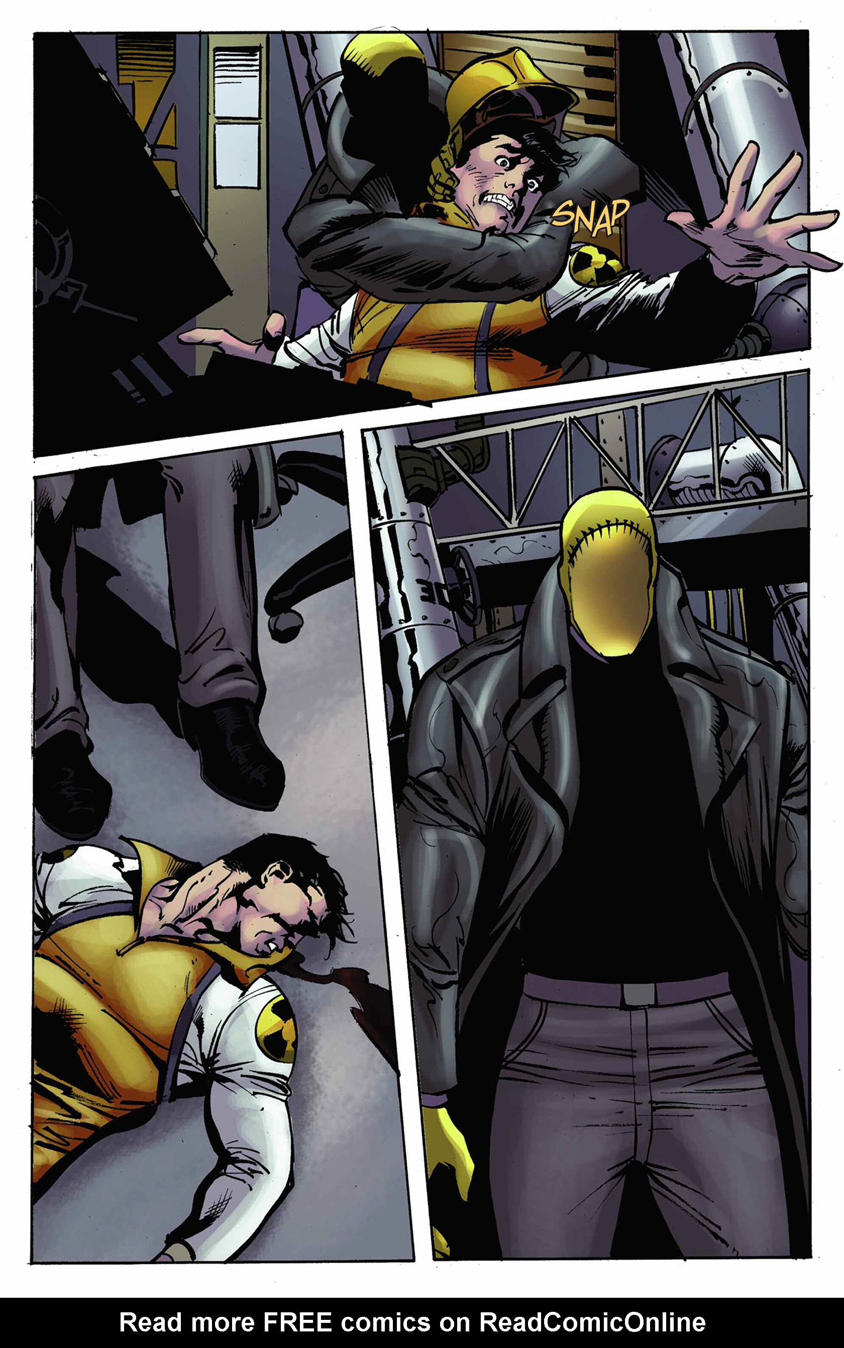 Read online Solar: Man of the Atom (2014) comic -  Issue #9 - 7
