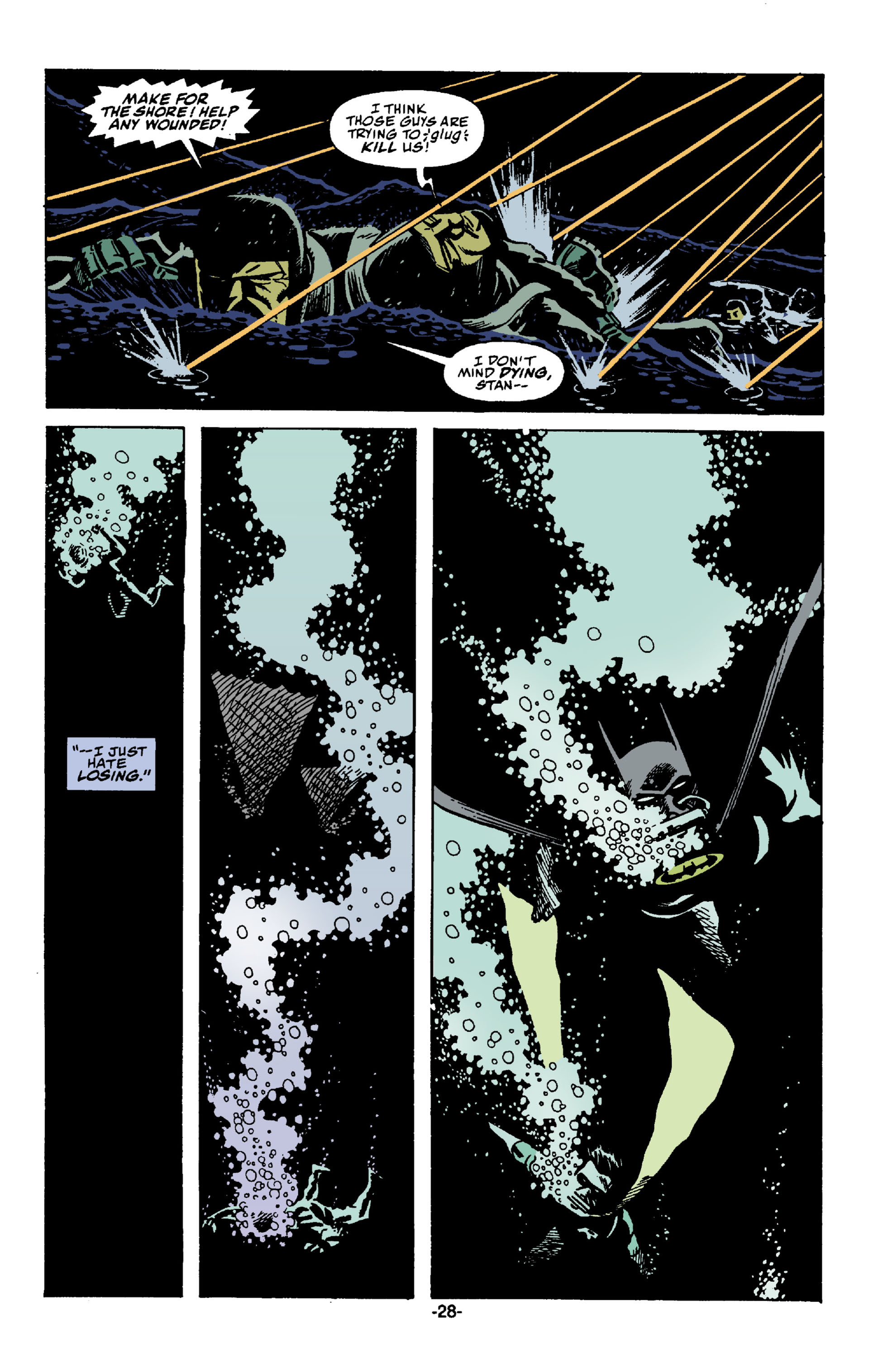 Read online Batman: Bane comic -  Issue # Full - 29