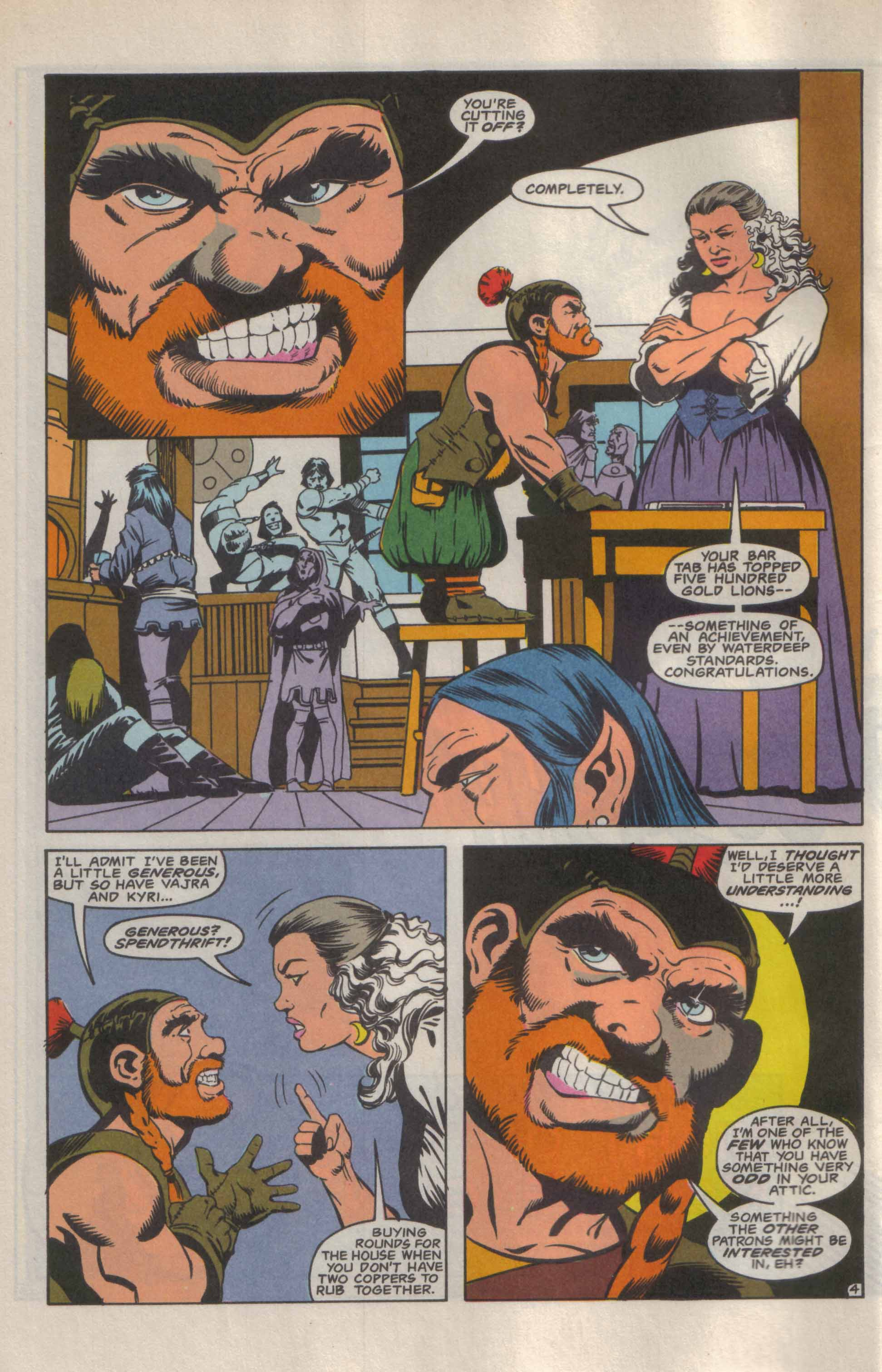Read online Advanced Dungeons & Dragons comic -  Issue #9 - 5