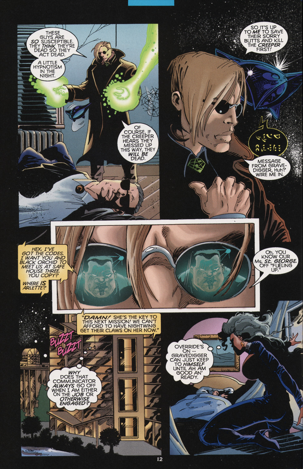 Read online Tangent Comics/ Nightwing comic -  Issue # Full - 12