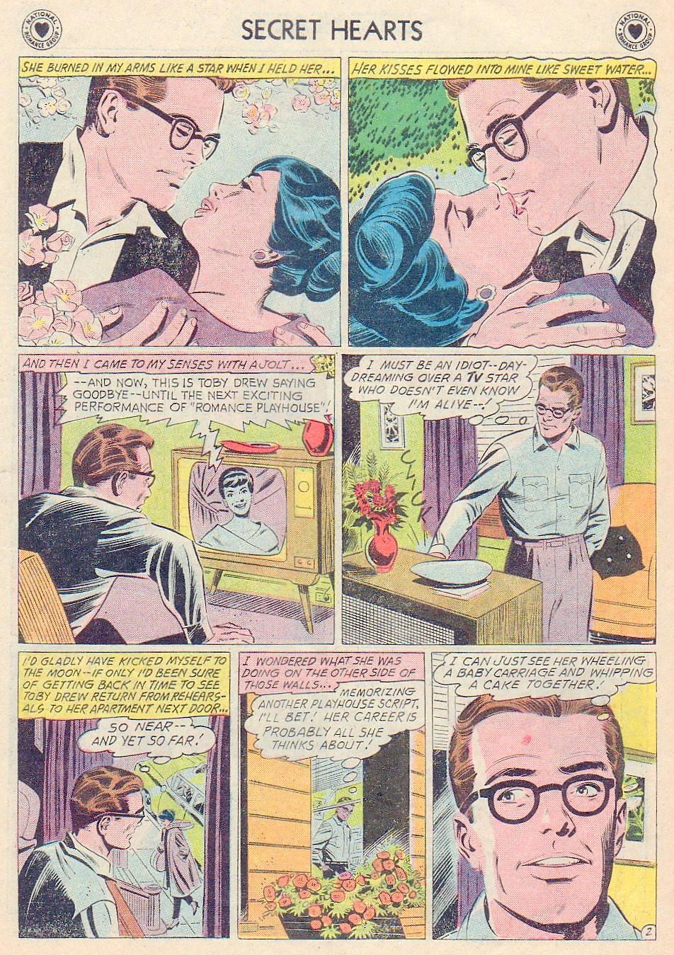 Read online Secret Hearts comic -  Issue #72 - 19