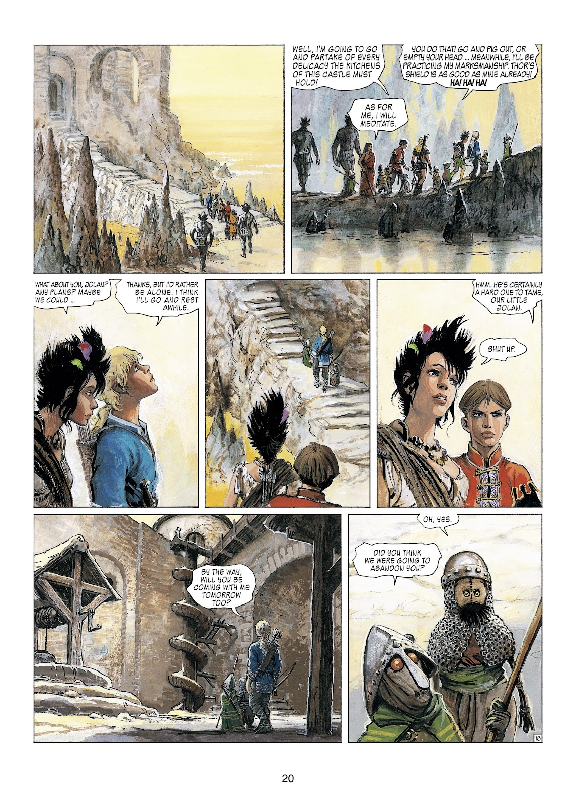 Read online Thorgal comic -  Issue #23 - 22