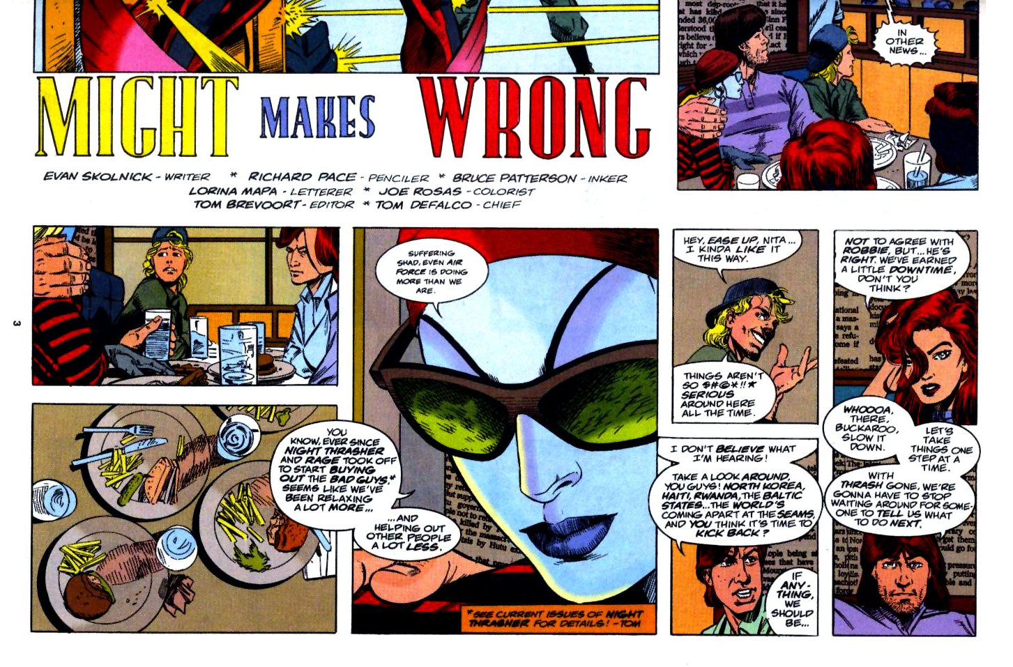 The New Warriors Issue #54 #58 - English 4