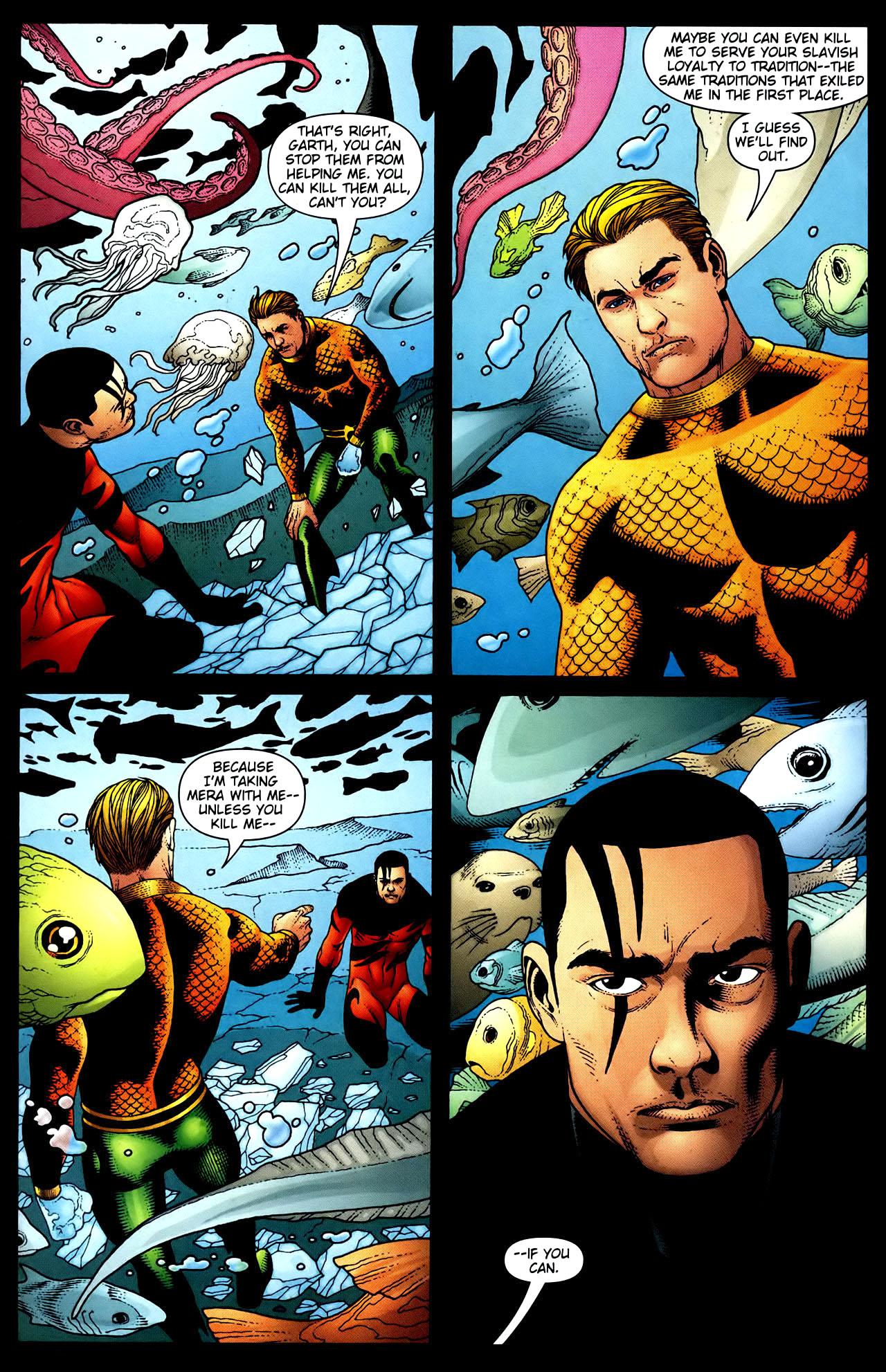 Read online Aquaman (2003) comic -  Issue #34 - 13