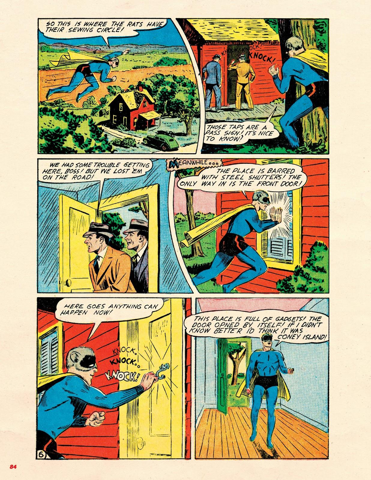 Read online Super Weird Heroes comic -  Issue # TPB 2 (Part 1) - 84