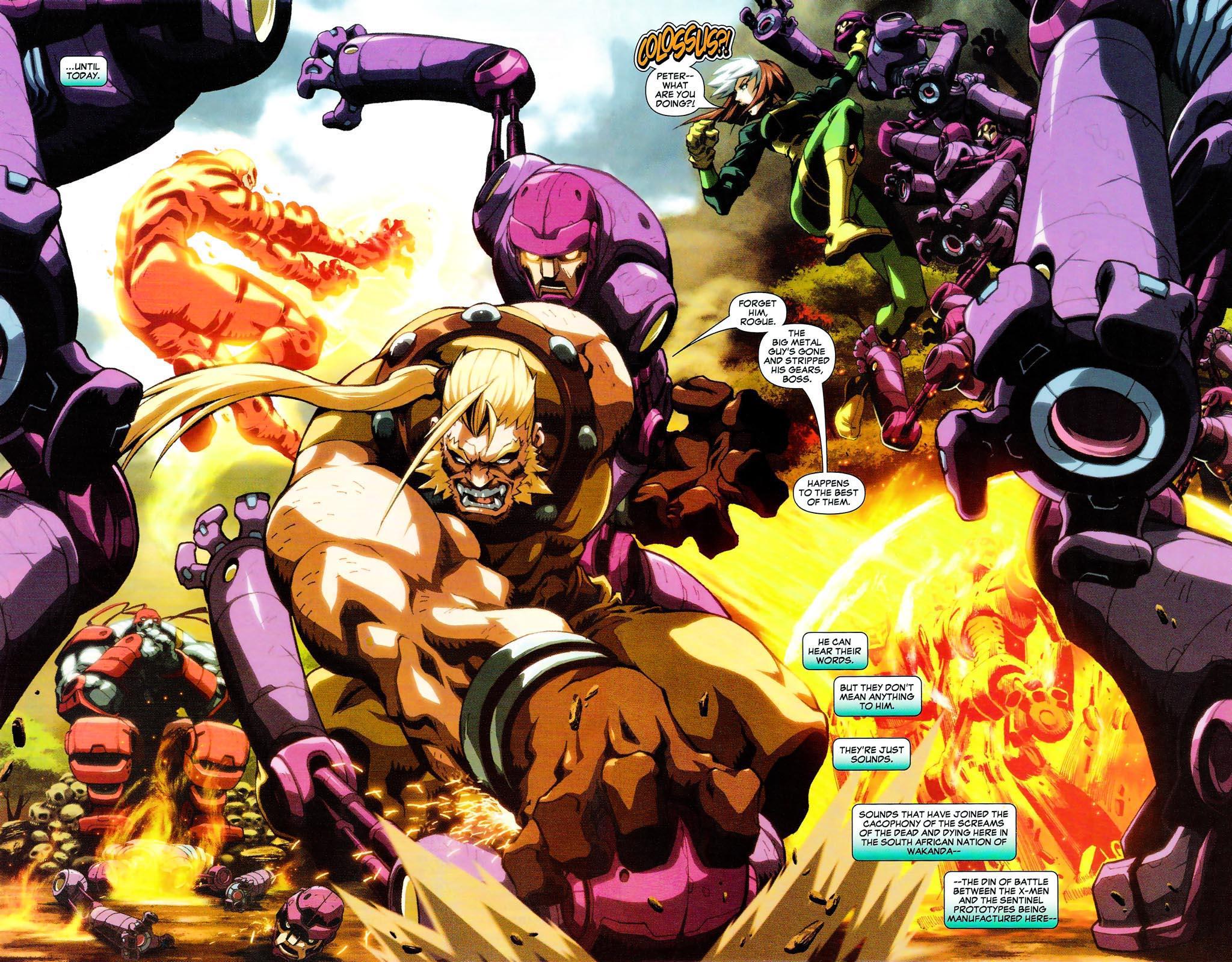 Read online Age of Apocalypse (2005) comic -  Issue #0 - 3