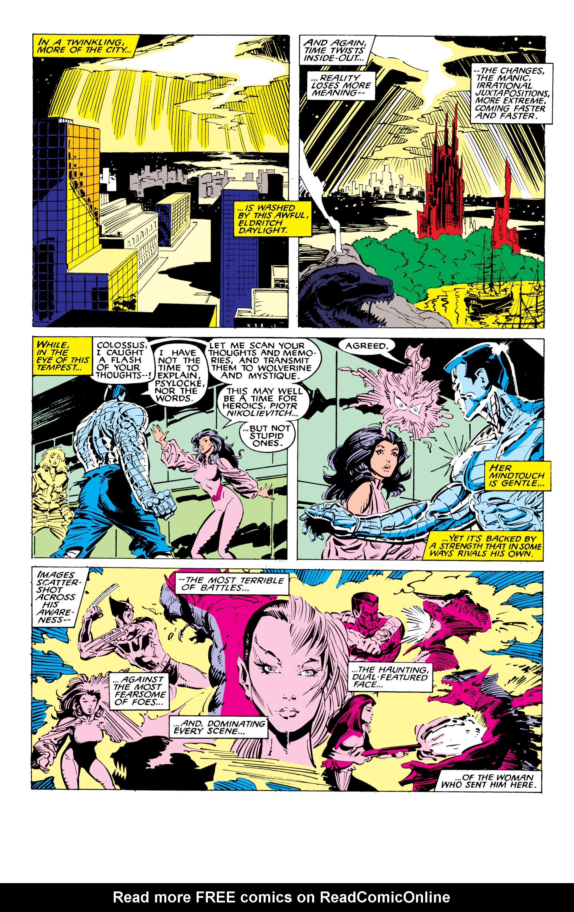 Read online Uncanny X-Men (1963) comic -  Issue #226 - 28