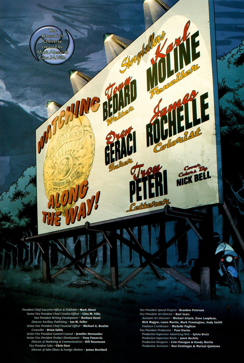 Read online Route 666 comic -  Issue #16 - 25