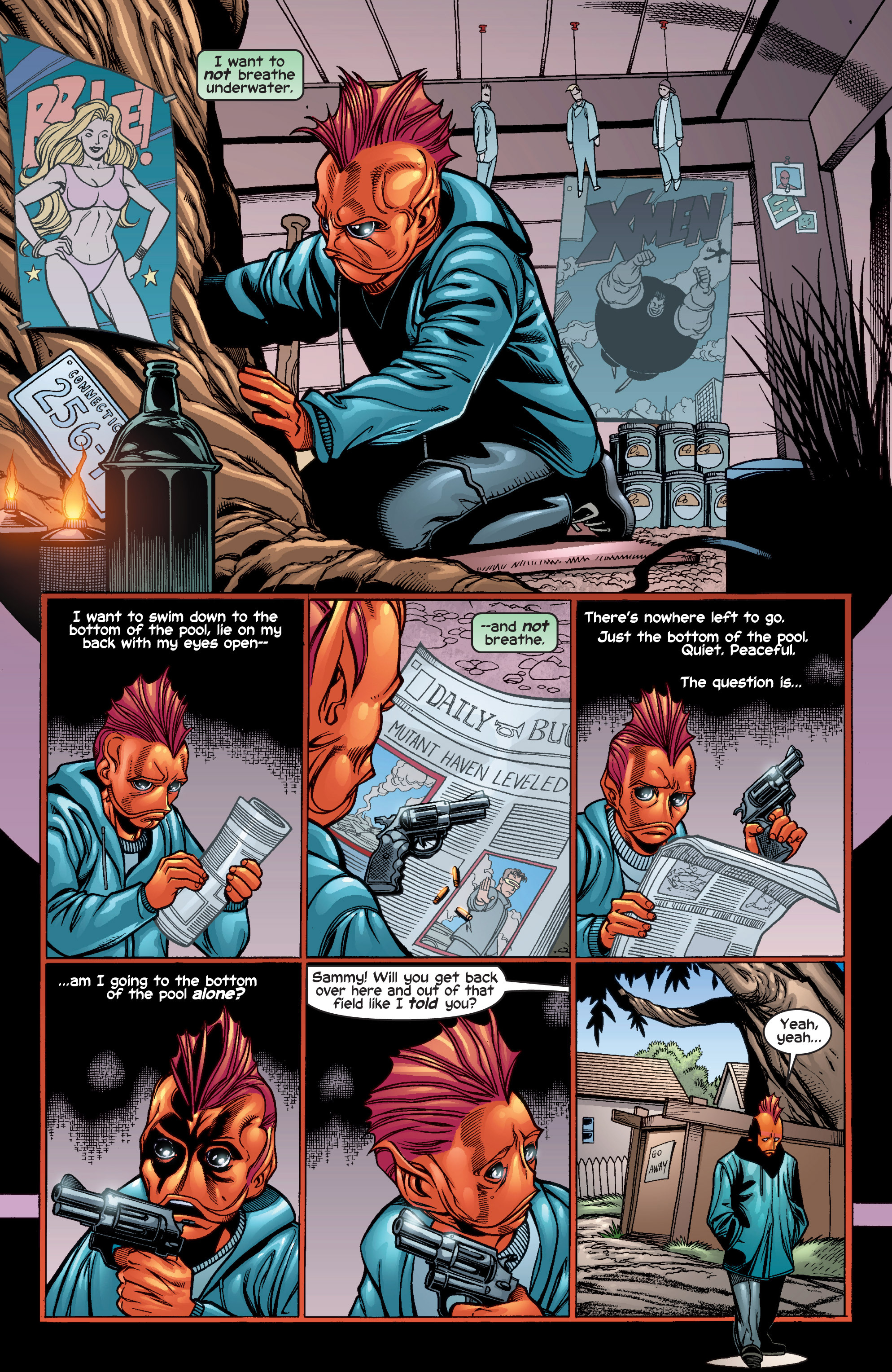 Read online Uncanny X-Men (1963) comic -  Issue #410 - 7
