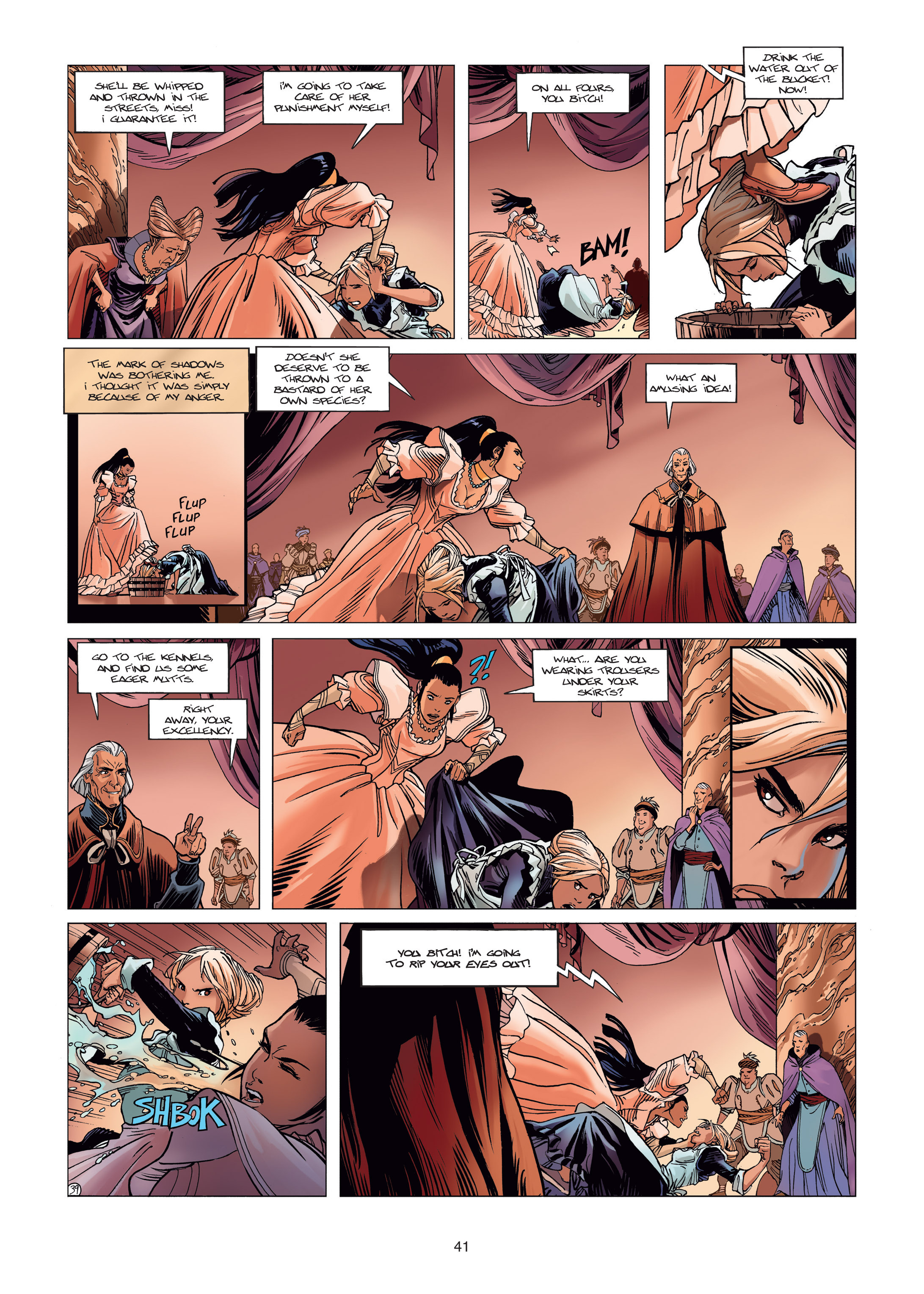 Read online Sangre Vol. 1: Sangre the Survivor comic -  Issue # Full - 41