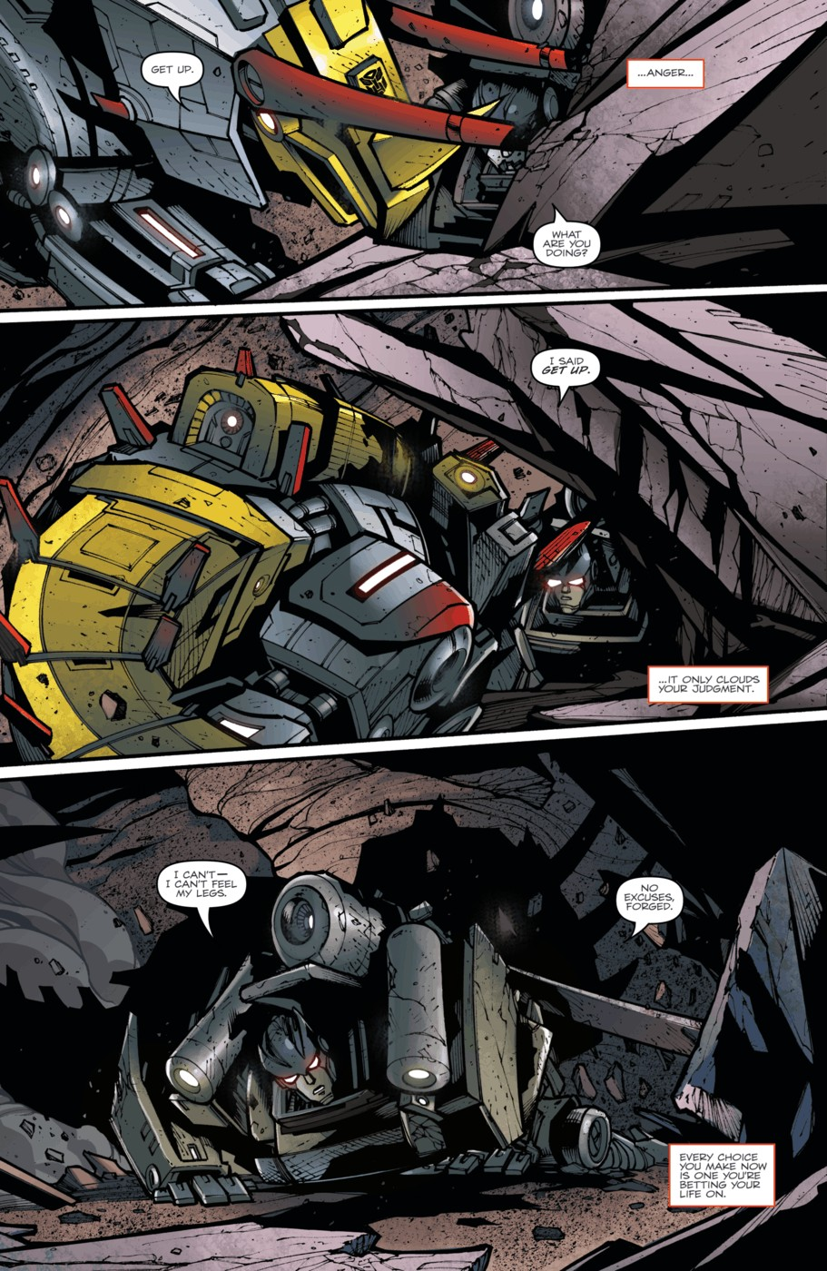 Read online Transformers Prime: Beast Hunters comic -  Issue #5 - 19
