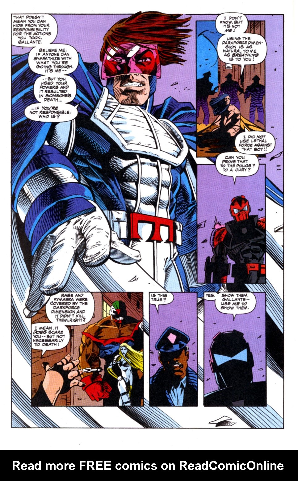 The New Warriors Issue #52 #56 - English 19