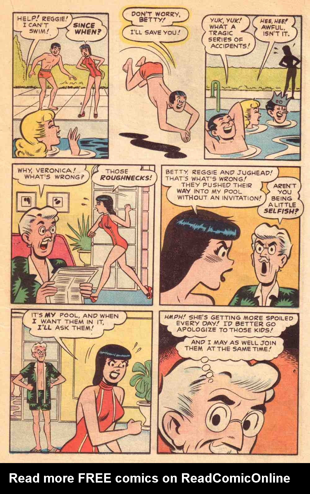 Read online Archie's Girls Betty and Veronica comic -  Issue #39 - 17