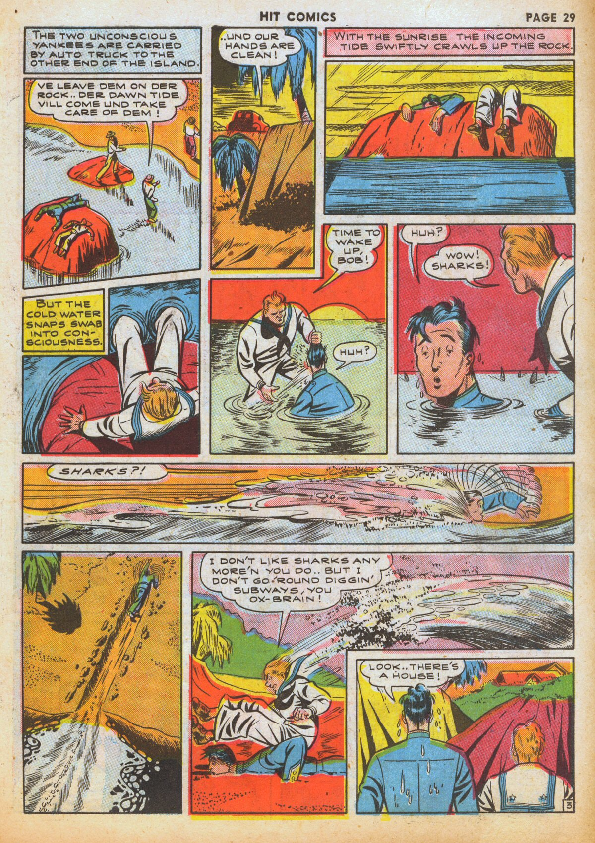 Read online Hit Comics comic -  Issue #12 - 31