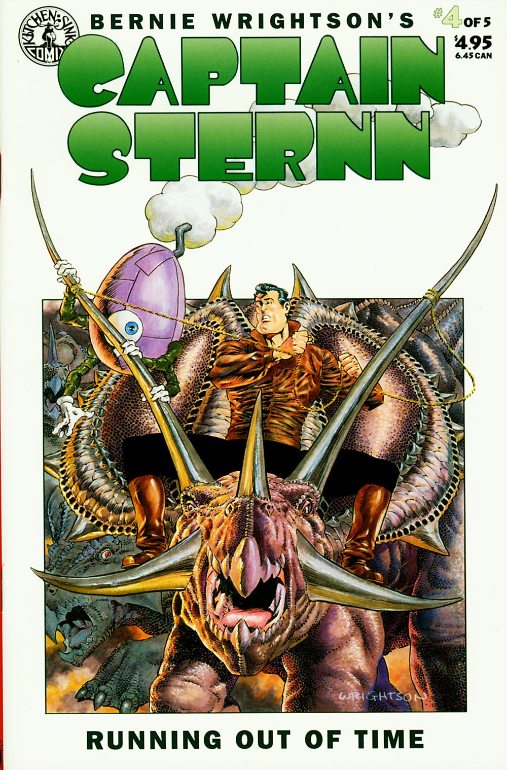 Captain Sternn: Running Out of Time 4 Page 1