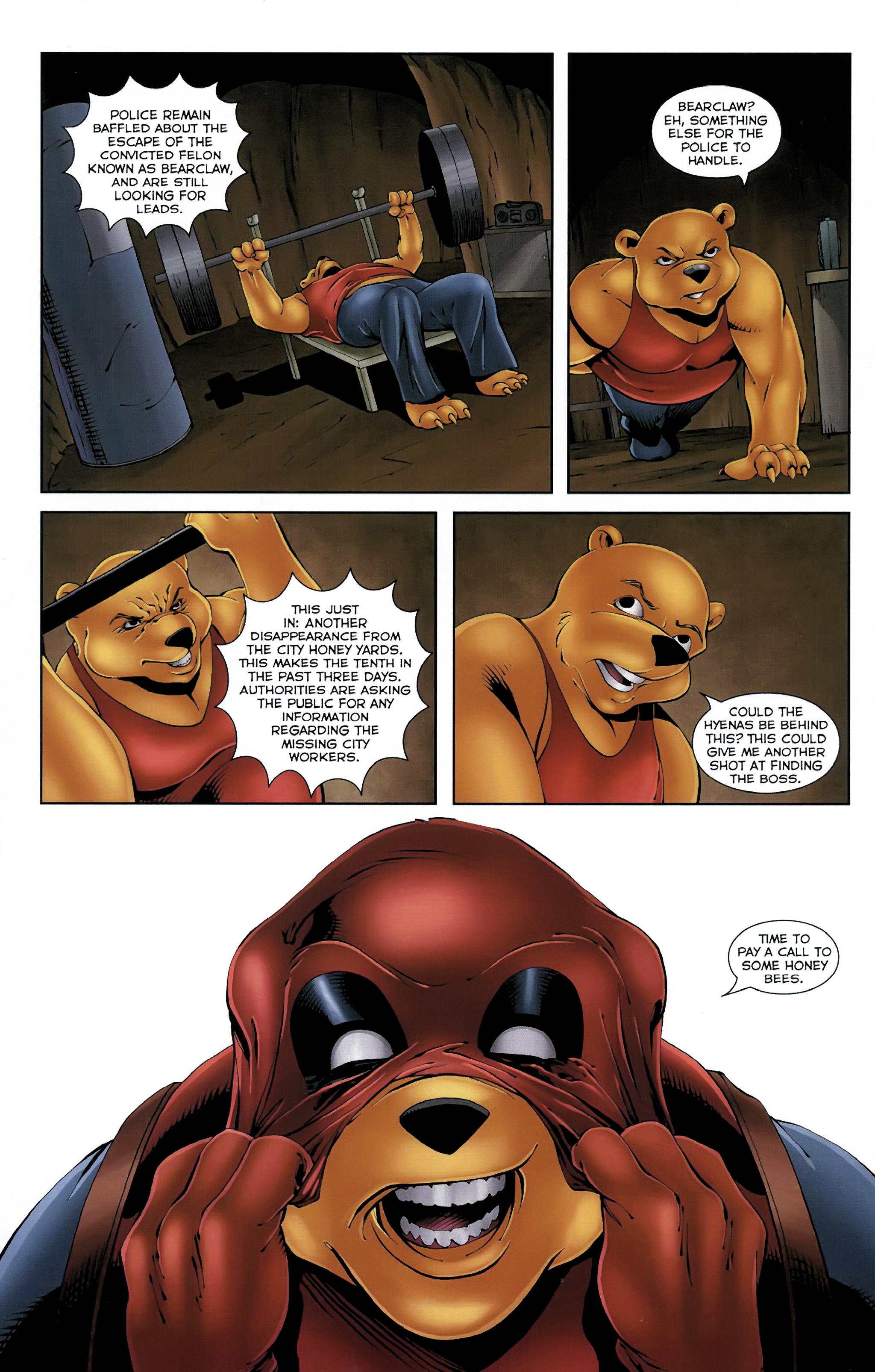 Read online Dead Pooh comic -  Issue #3 - 13