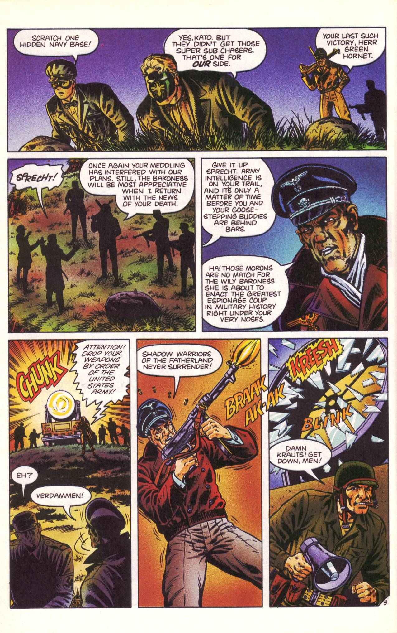 Read online Sting of The Green Hornet comic -  Issue #3 - 10