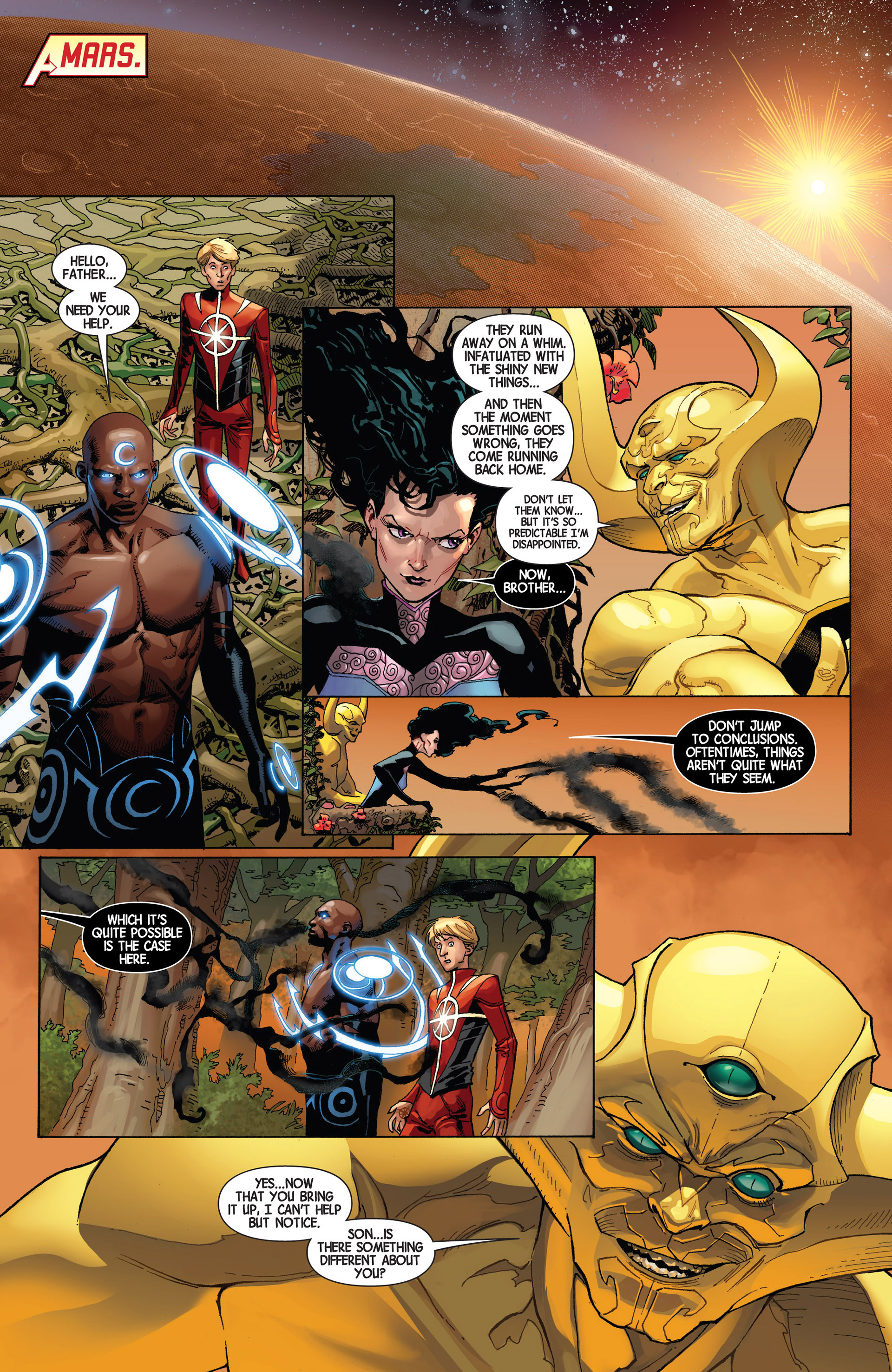Read online Avengers (2013) comic -  Issue #9 - 5