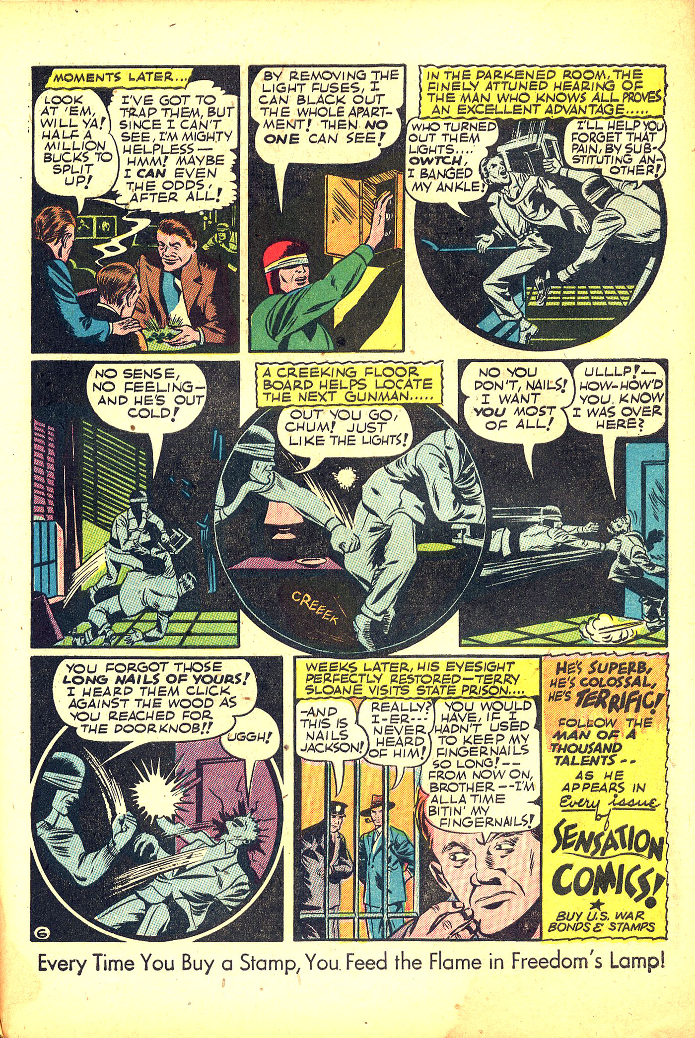 Read online Sensation (Mystery) Comics comic -  Issue #31 - 47