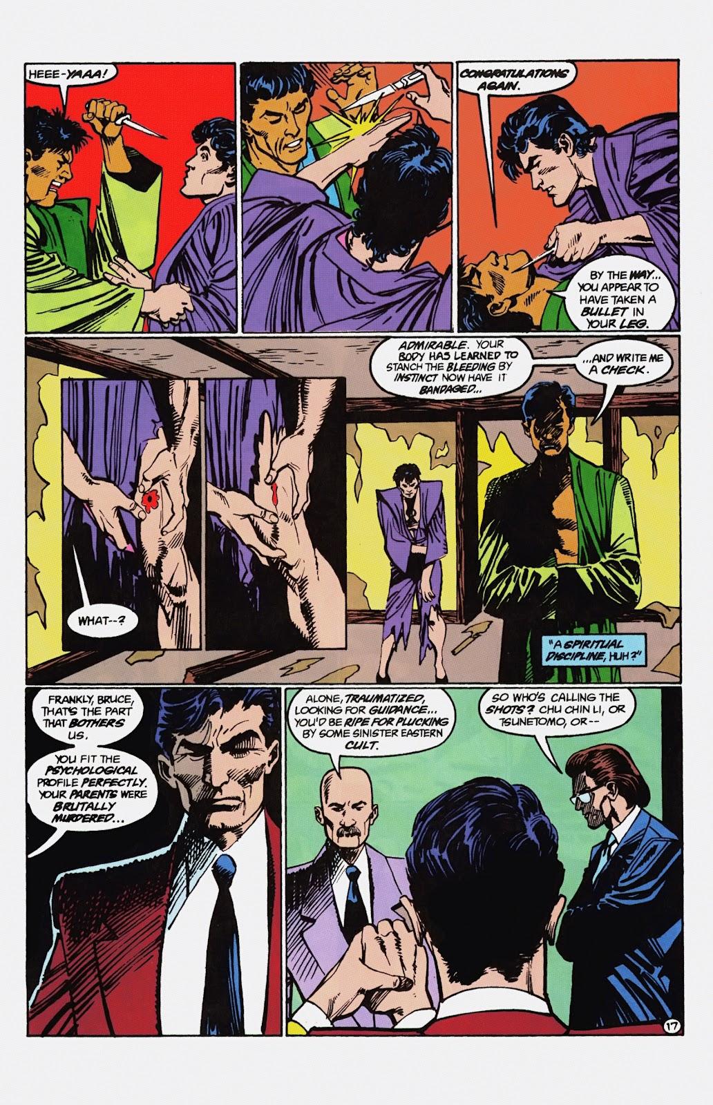 Read online Detective Comics (1937) comic -  Issue # _TPB Batman - Blind Justice (Part 1) - 82