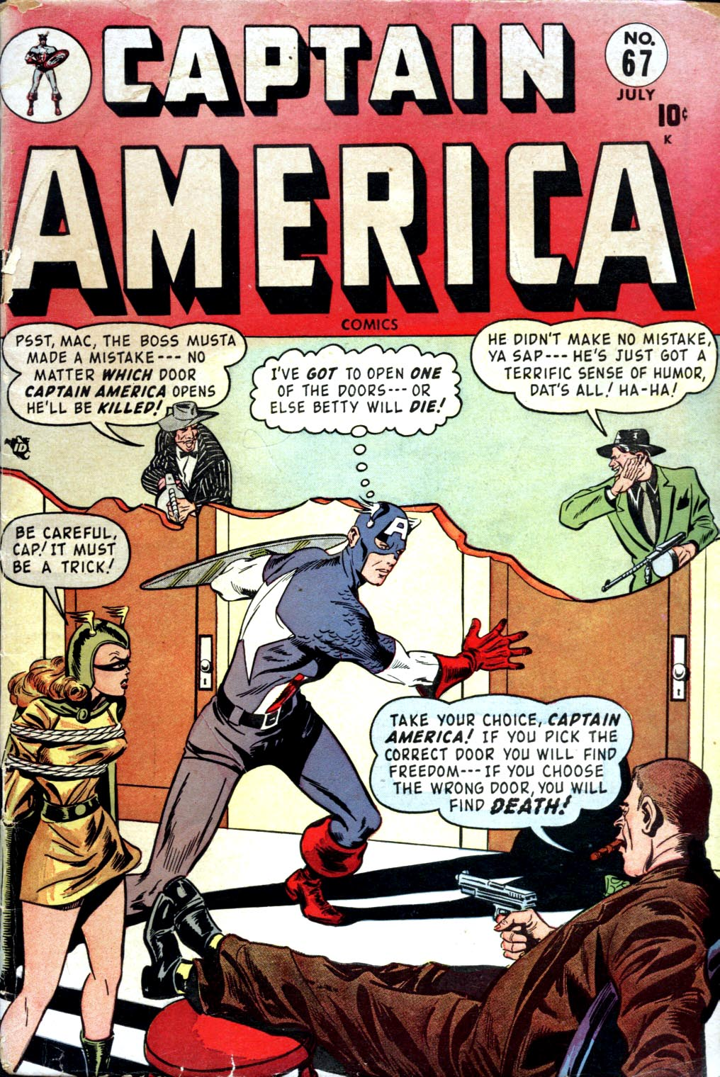 Captain America Comics 67 Page 1