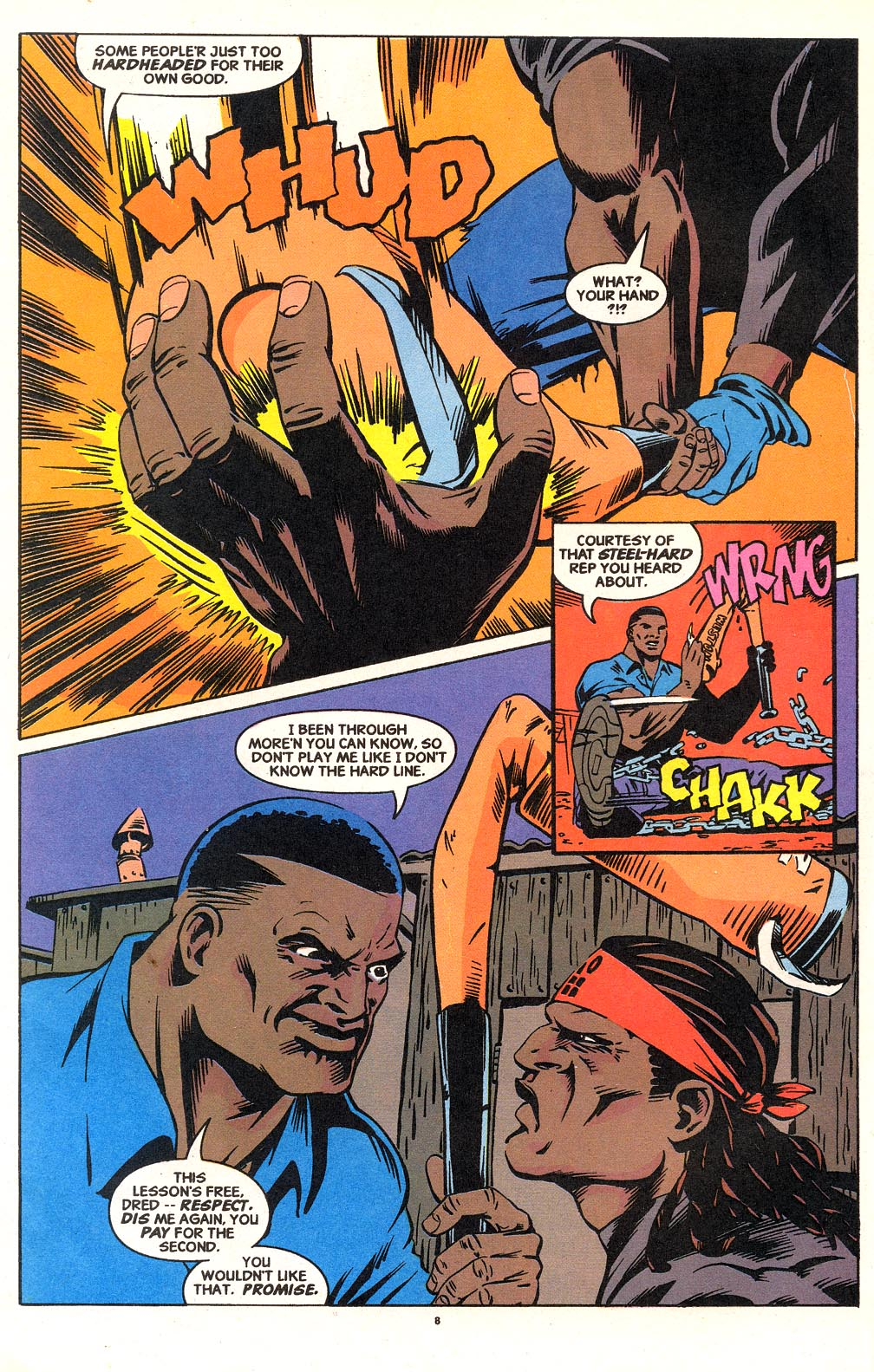 Cage (1992) issue 18 - Page 7