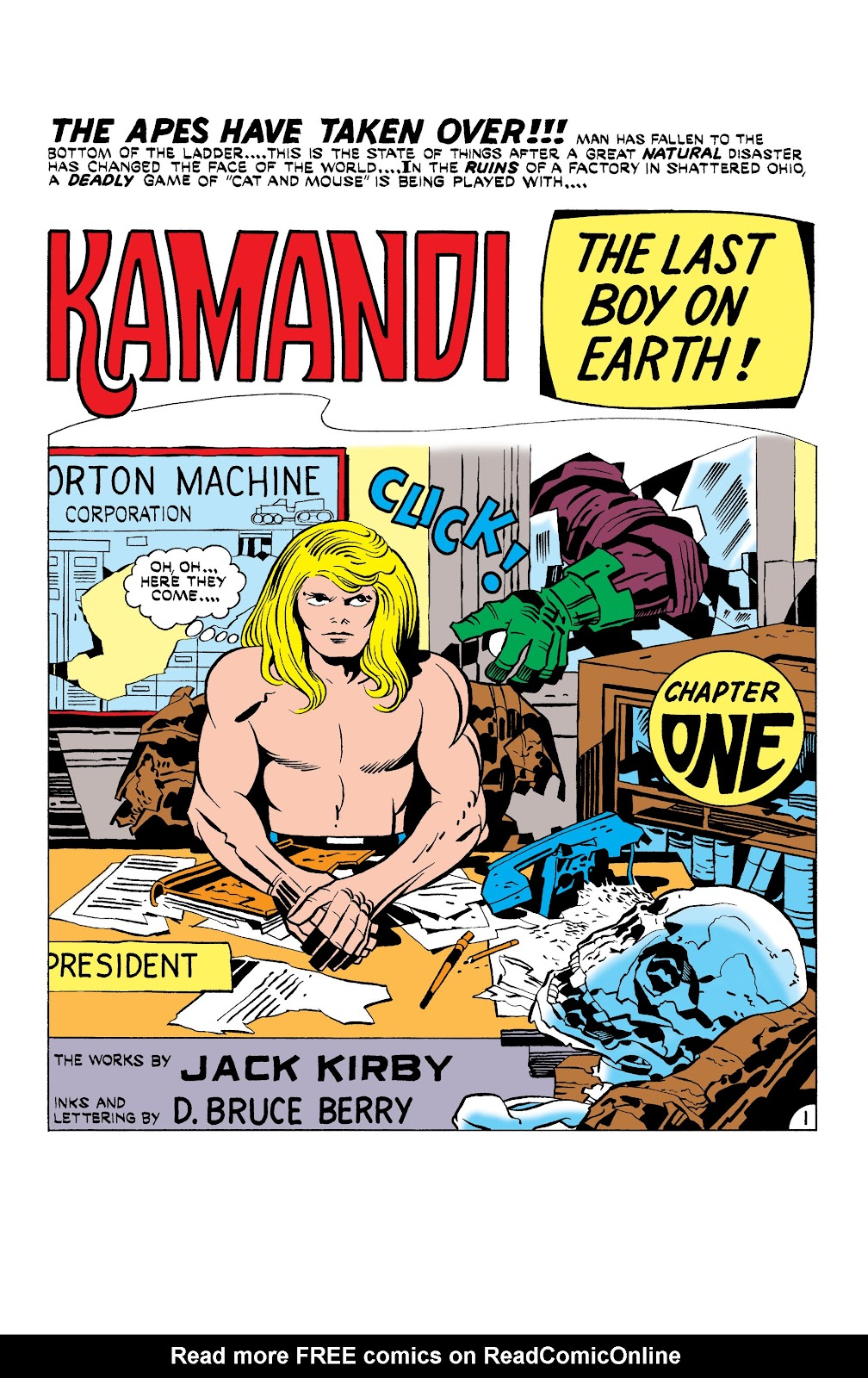 Kamandi, The Last Boy On Earth issue 18 - Page 2