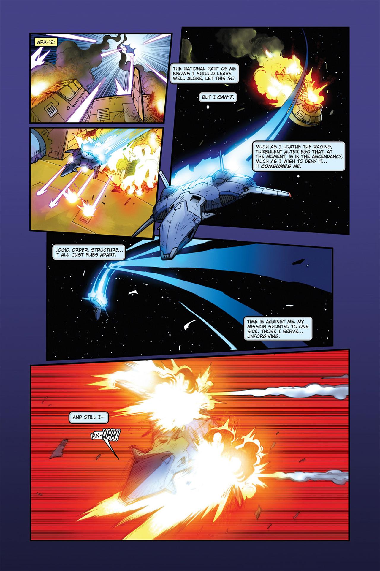 Read online Transformers Spotlight: Cyclonus comic -  Issue # Full - 16