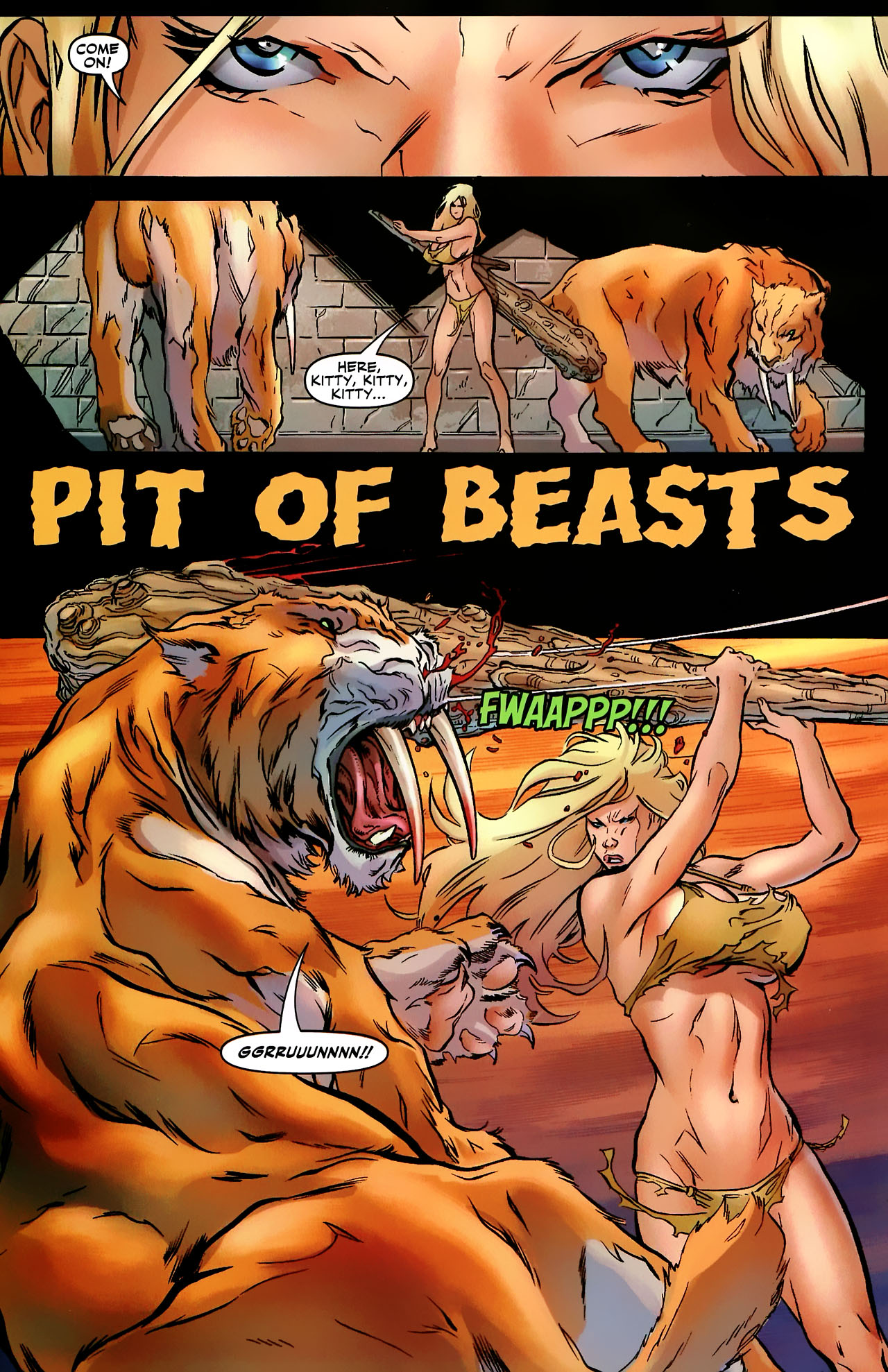 Read online Shanna the She-Devil: Survival of the Fittest comic -  Issue #3 - 3