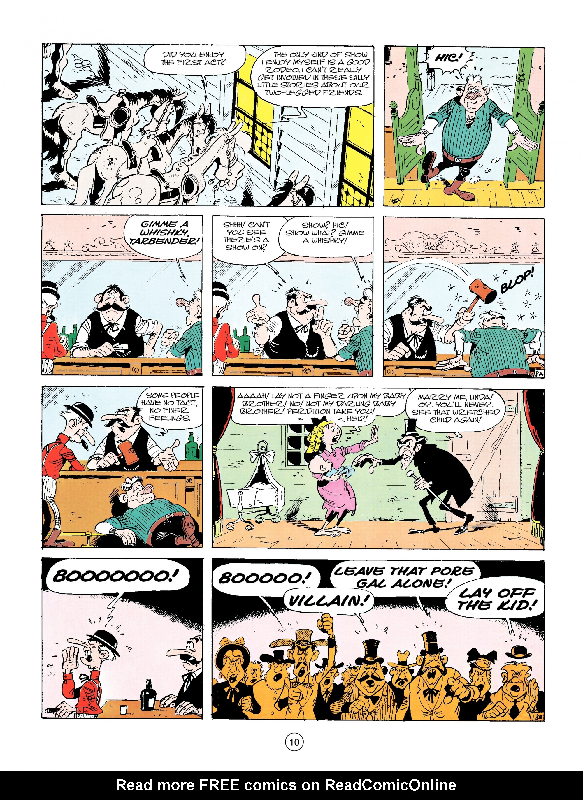 Read online A Lucky Luke Adventure comic -  Issue #14 - 10